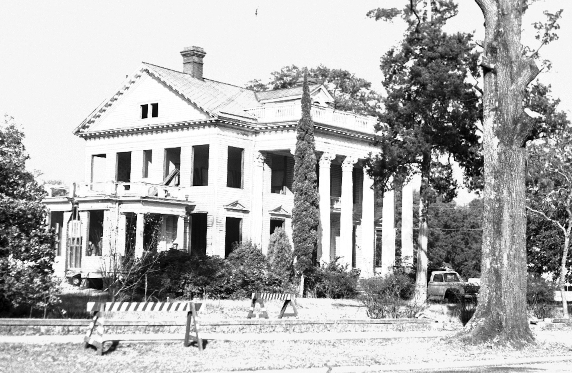 The John D. Lee House is seen in 1967.