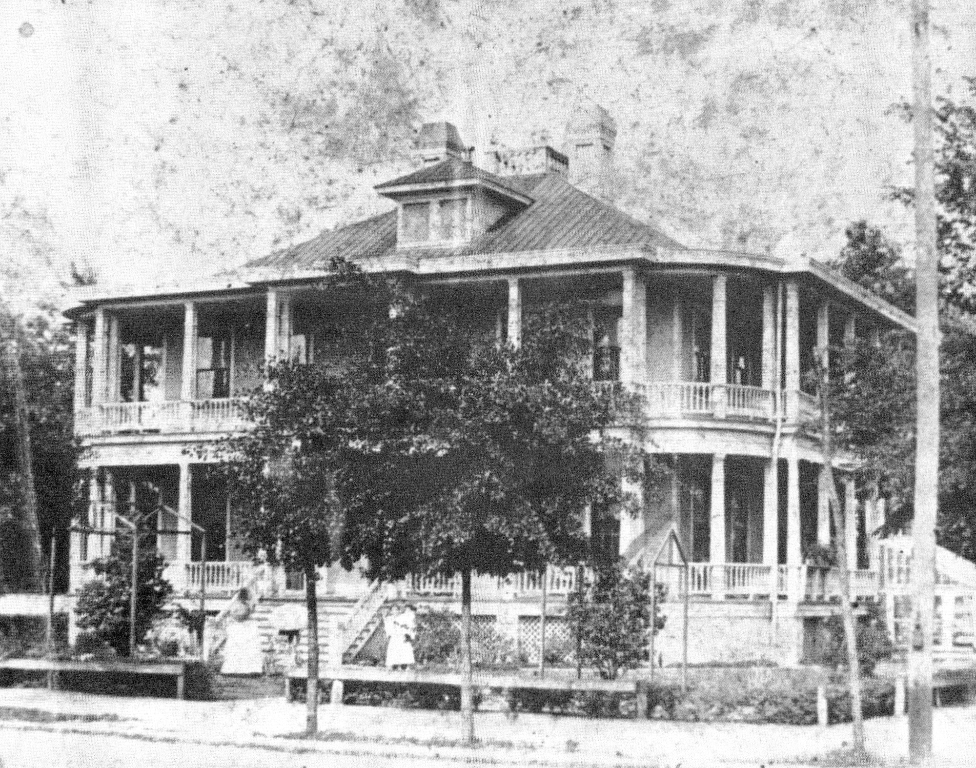 The Monaghan home once house the Marion Hotel.