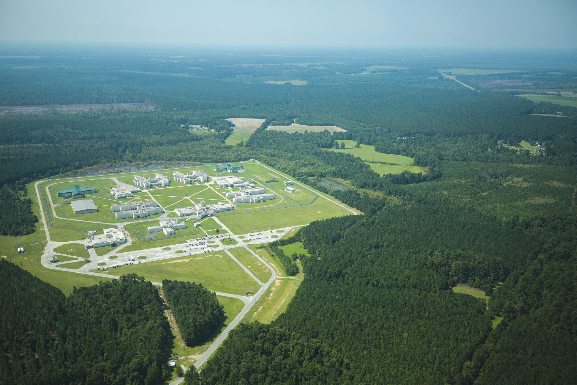 Turbeville Correctional Institution is pictured from above.