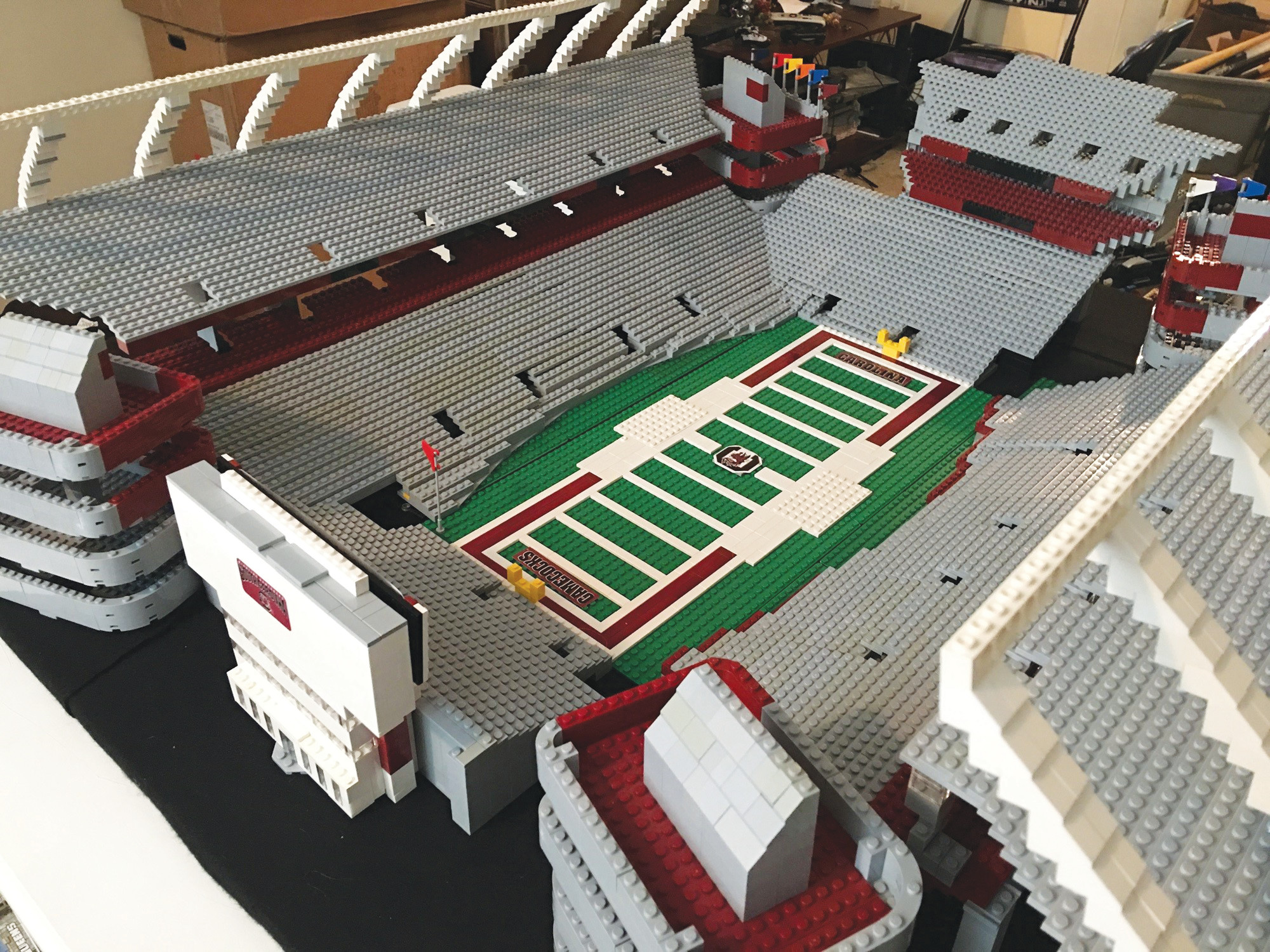 how to build lego convention