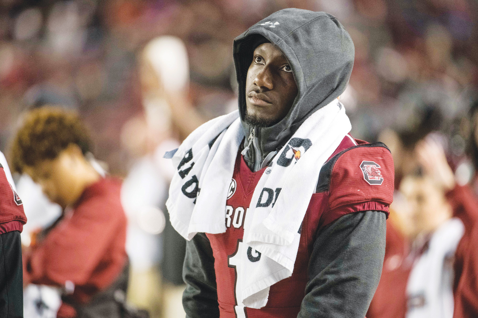 South Carolina wide receiver Deebo Samuel, who saw most of the 2017 season from the sideline because of an injury, hopes to make a major impact for the Gamecocks this season.