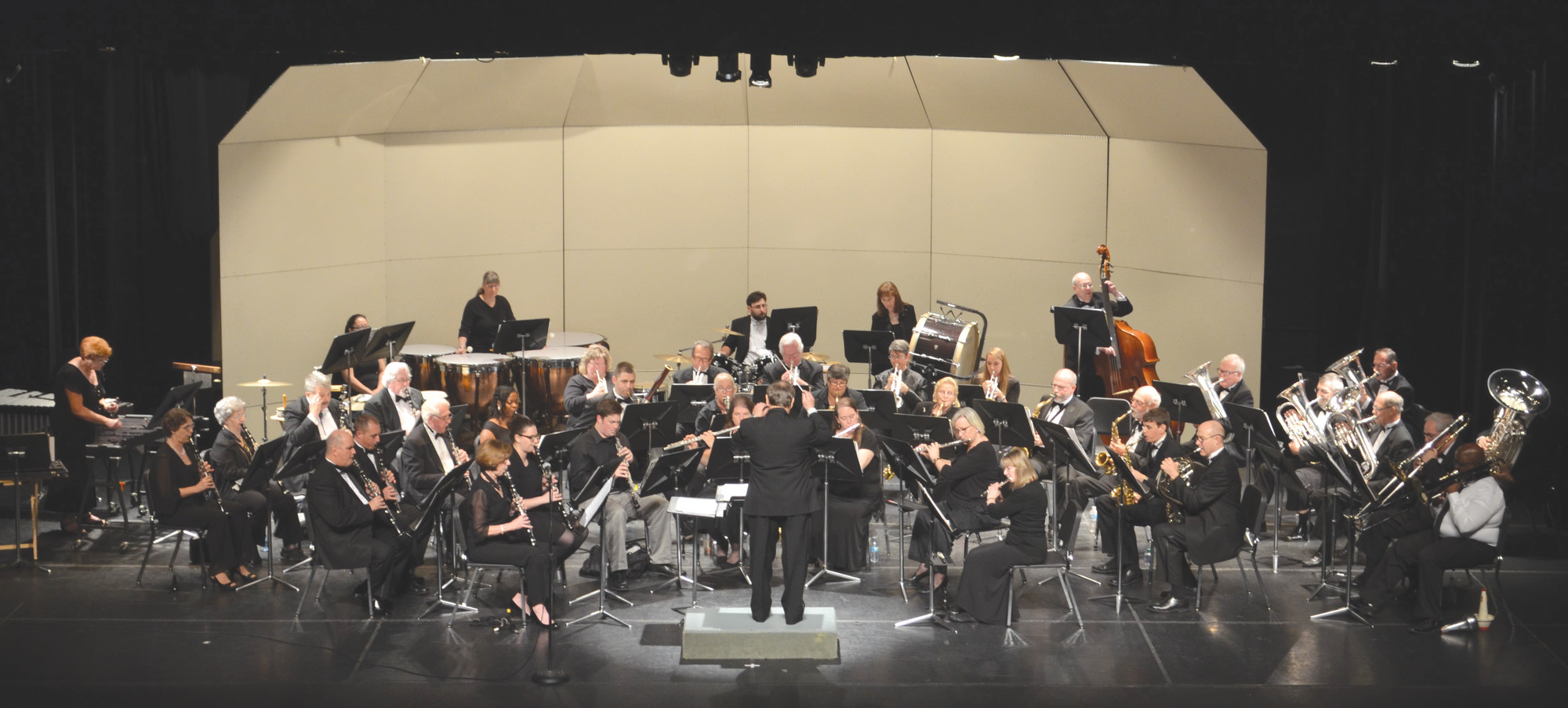 PHOTO PROVIDEDThe Sumter Community Concert Band, directed by James H. Mills, will begin rehearsals for its 2018-19 season at 7 p.m. Thursday in the band room at Patriot Hall, 135 Haynsworth St. Those interested in joining the band, who should have previous band experience and be able to read music, need only come to a rehearsal. No audition is required. The SCCB rehearses each Thursday at 7 p.m.