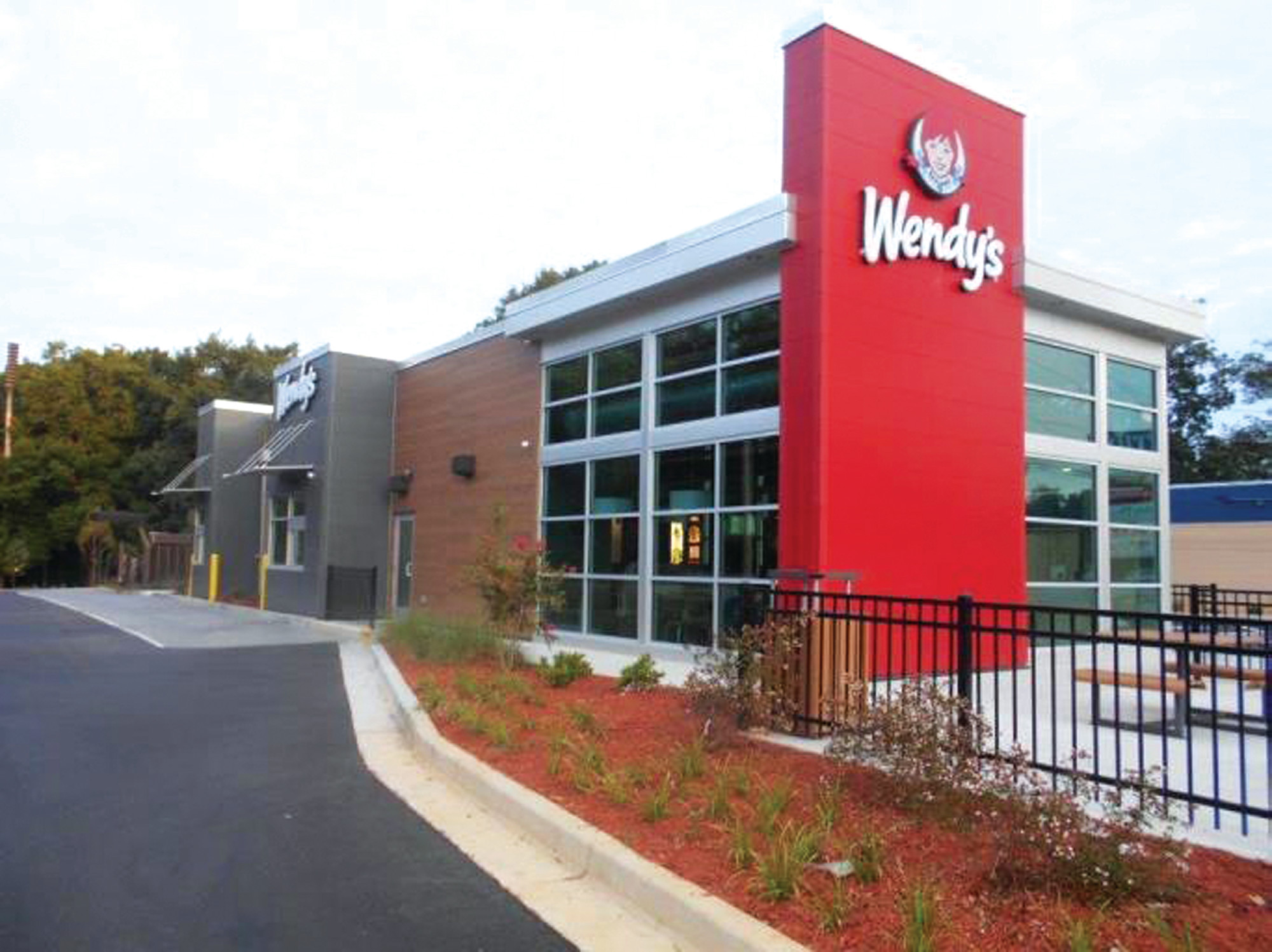 PHOTO PROVIDEDA representation of the proposed design for the Wendy's restaurant, 1085 Broad St.