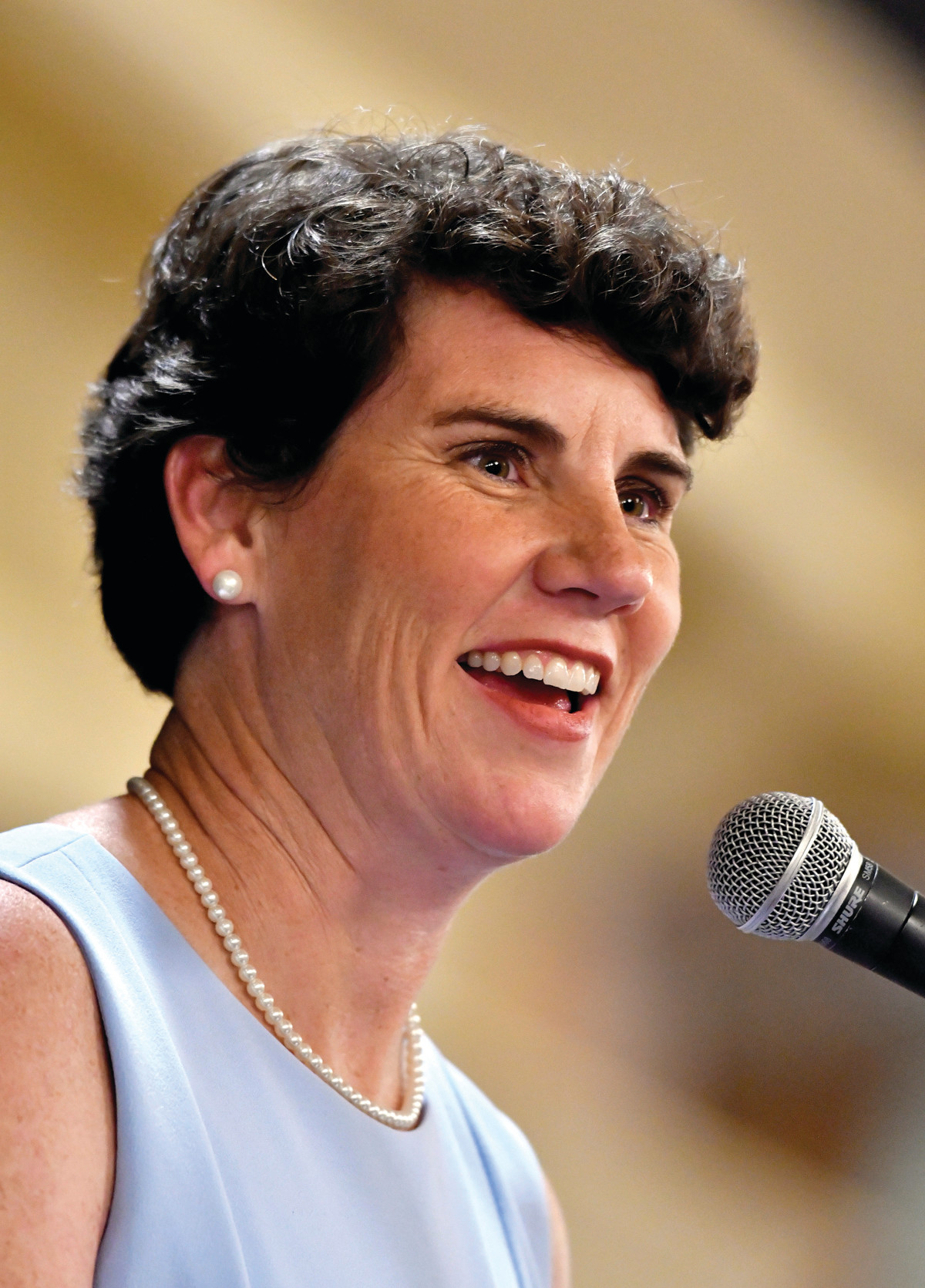 Amy McGrath, a Kentucky Democratic candidate for Congress, is a former fighter pilot.