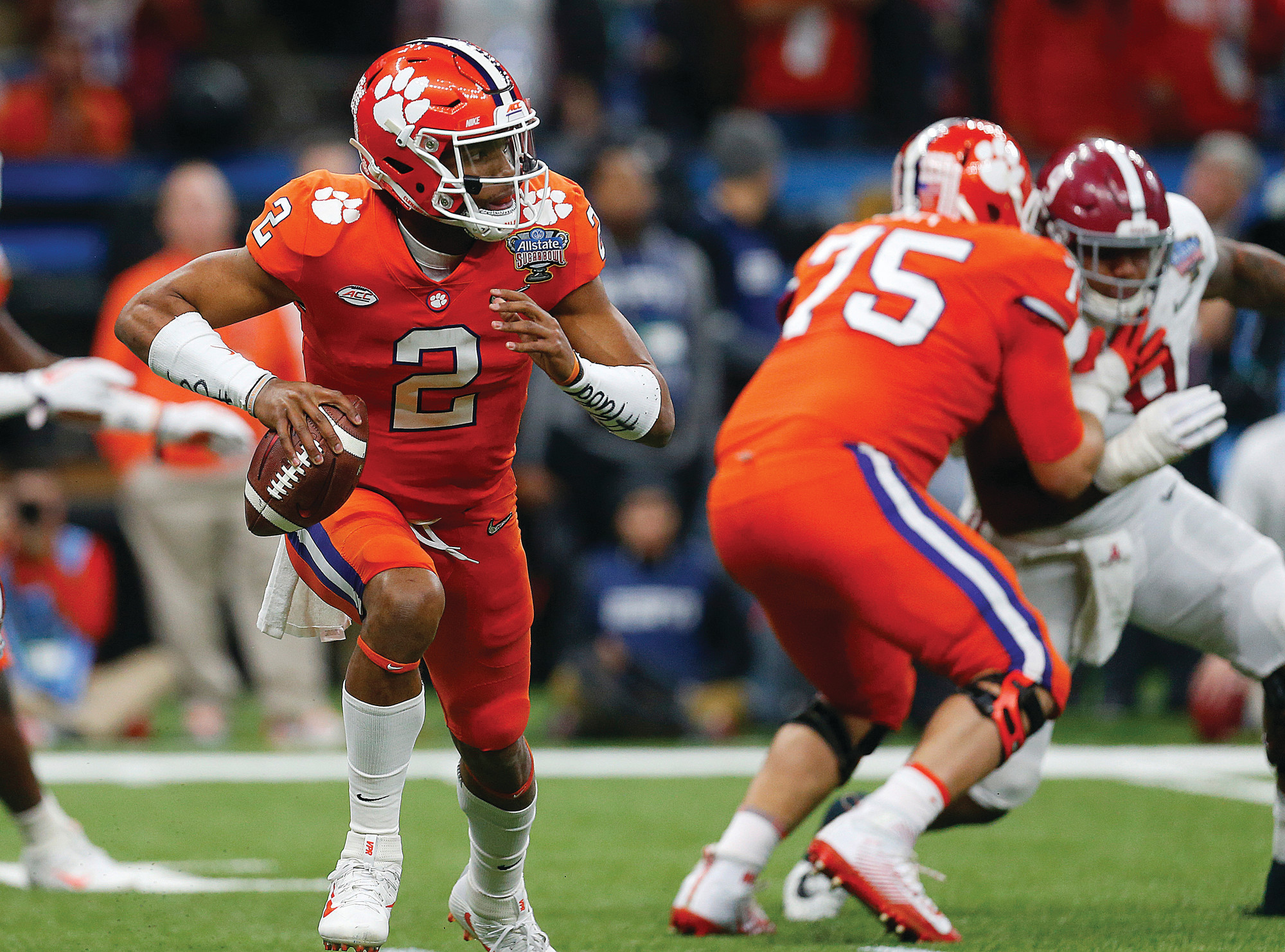 THE ASSOCIATED PRESSClemson quarterback Kelly Bryant (2) will open the season as the starter on Saturday against Furman.