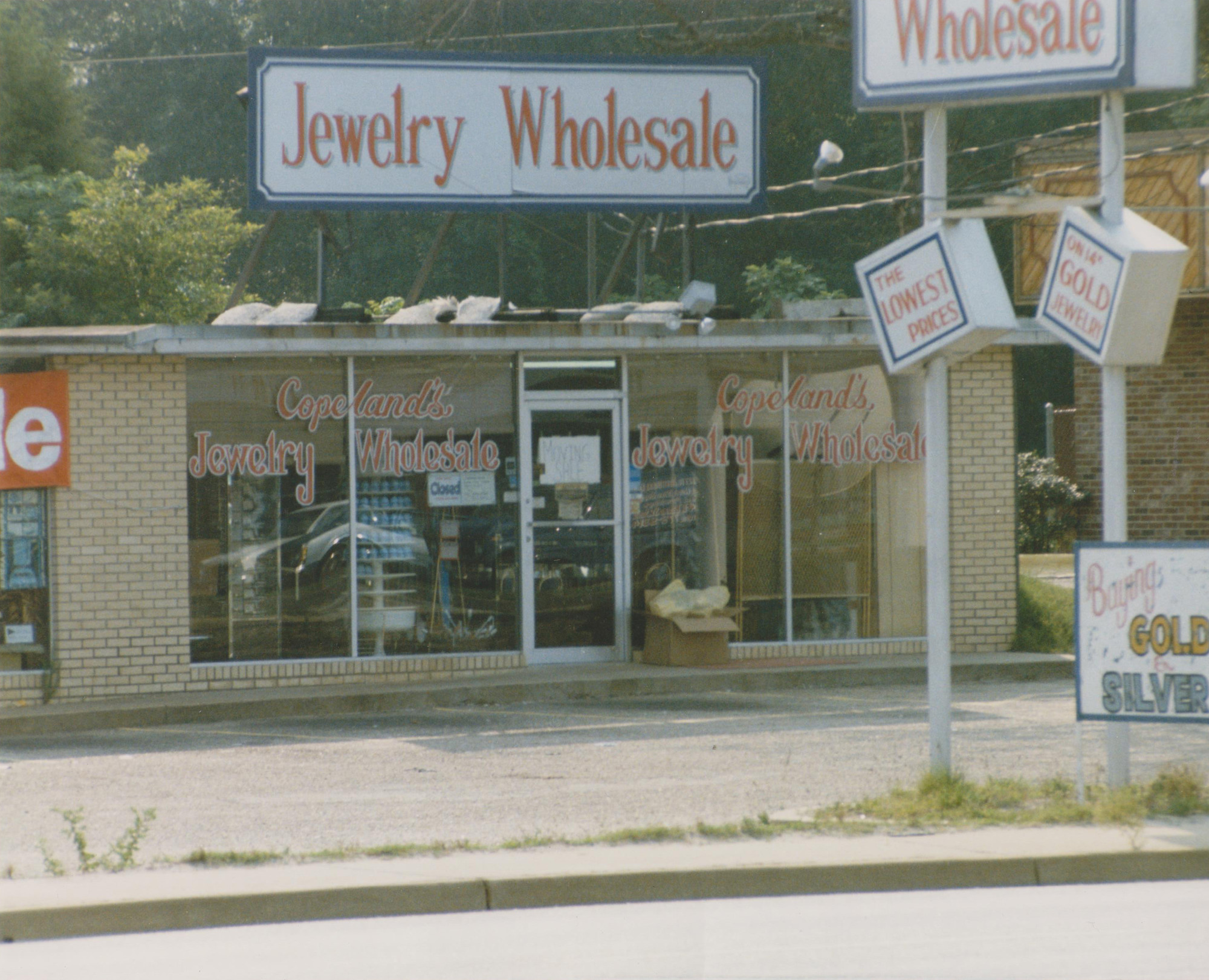 P O Providedjohn Copelands Jewelry Wholesale Operated At 1091 Broad St The Current Sonic Drive