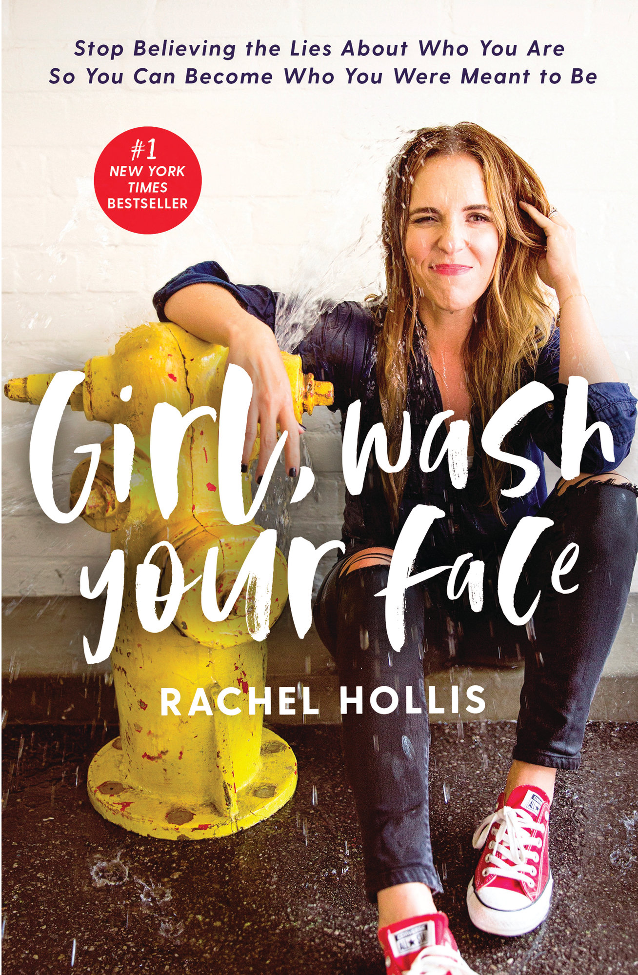 "Thomas Nelson via the Associated PressSeen is the cover for ""Girl, Wash Your Face: Stop Believing the Lies About Who You Are so You Can Become Who You Were Meant to Be"" by Rachel Hollis."