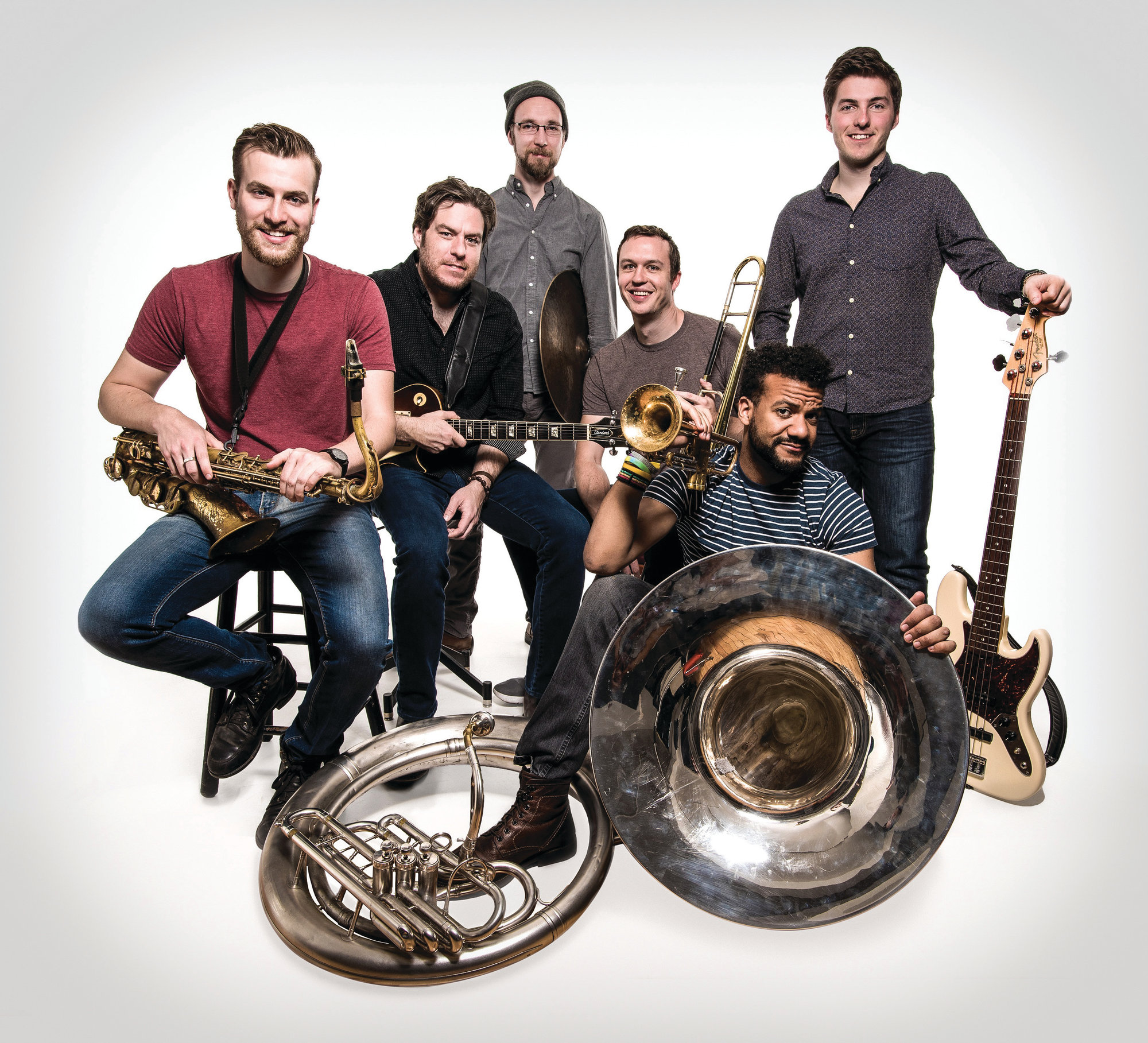 New York-based jazz band the Huntertones will appear with Charleston band Ranky Tanky on Friday at the Sumter Opera House.