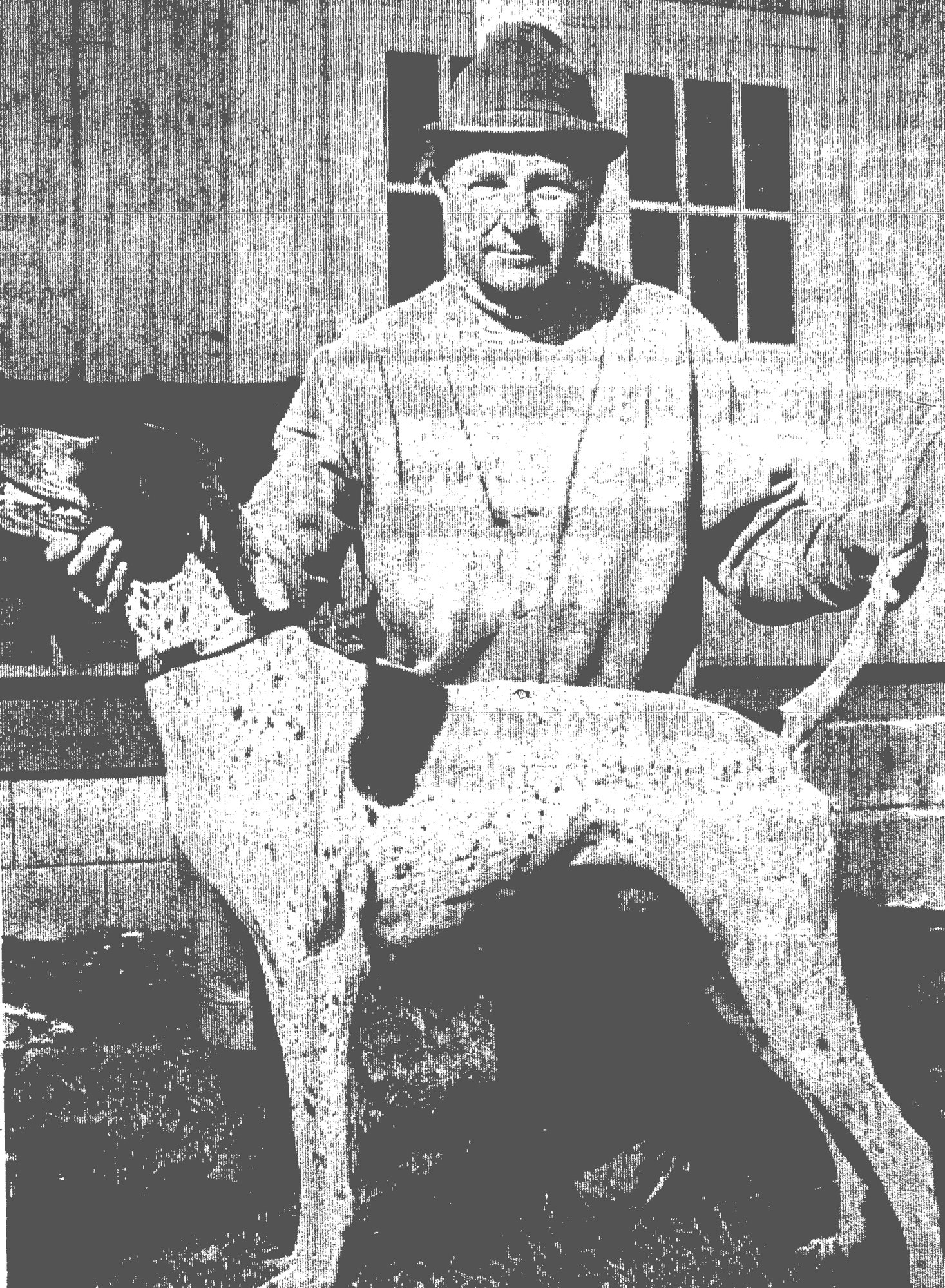 1968 - Wateree, a 4-year-old liver-and-white male pointer, handled and trained locally by his owner, W. C. Chaney, won the Regional Three Amateur All-Age Championship in Pinehurst, North Carolina. An entry of 26 dogs competed from various states in the Southeast. This is the dog's first title, and now he has about 23 wins.