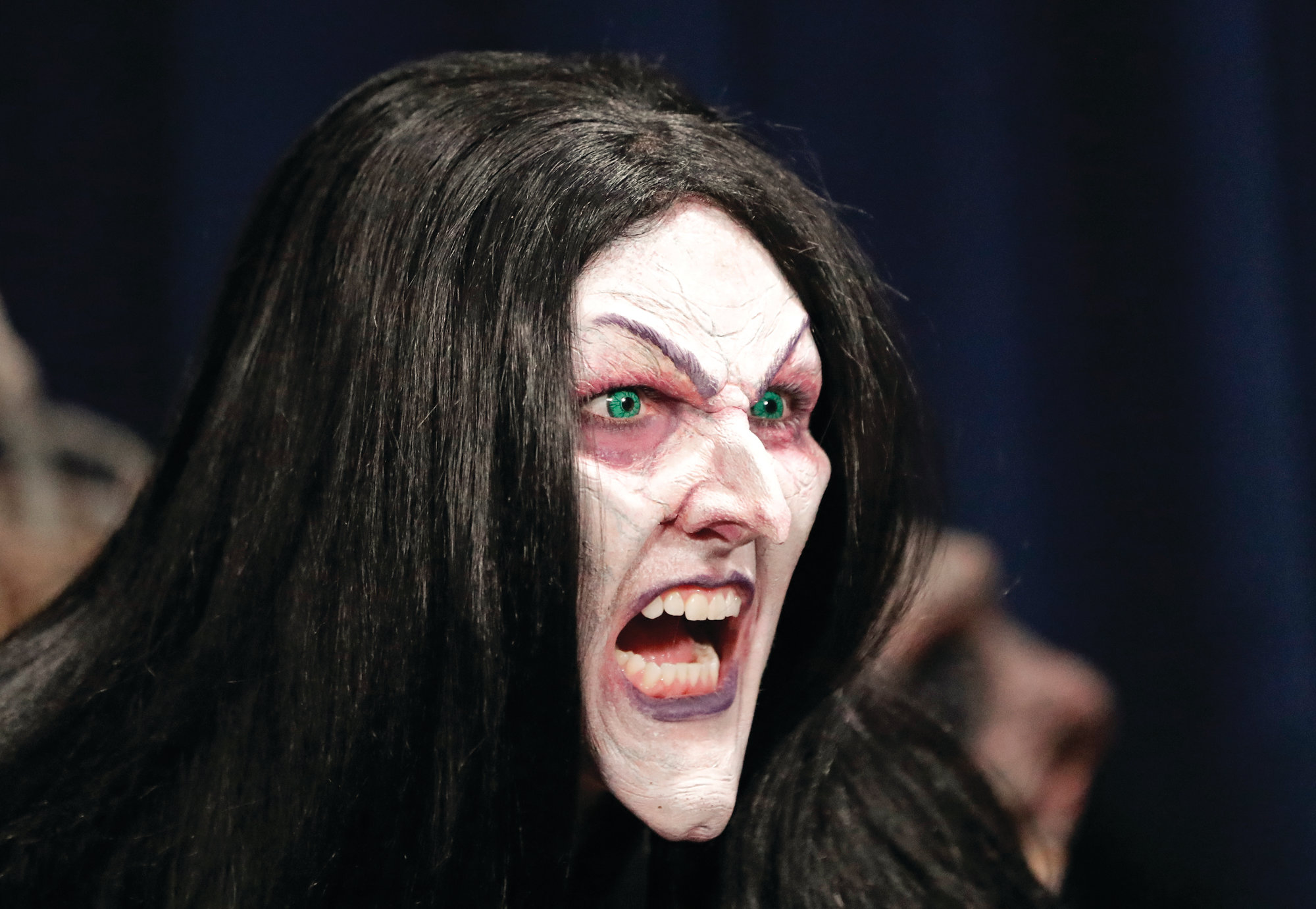 makeup, wig, cackle turn actress to witch | the sumter item