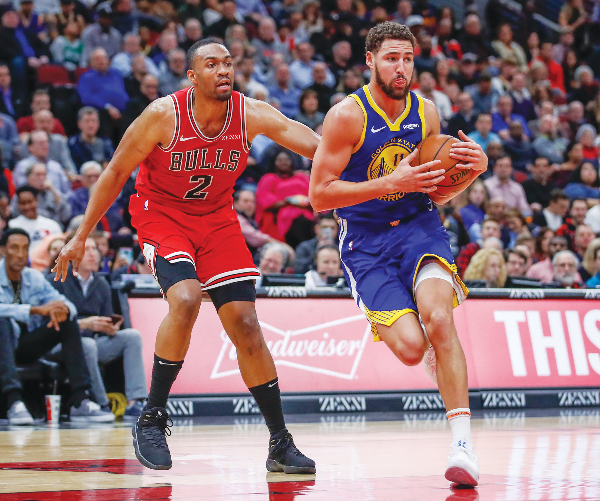 6f13ae3c0 Golden State guard Klay Thompson