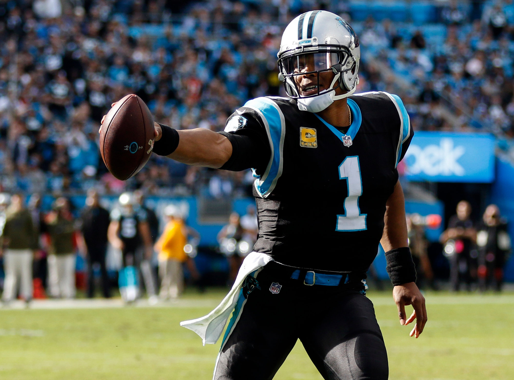 The Carolina Panthers and quarterback Cam Newton will take on the Pittsburgh Steelers on Thursday in Pittsburgh.
