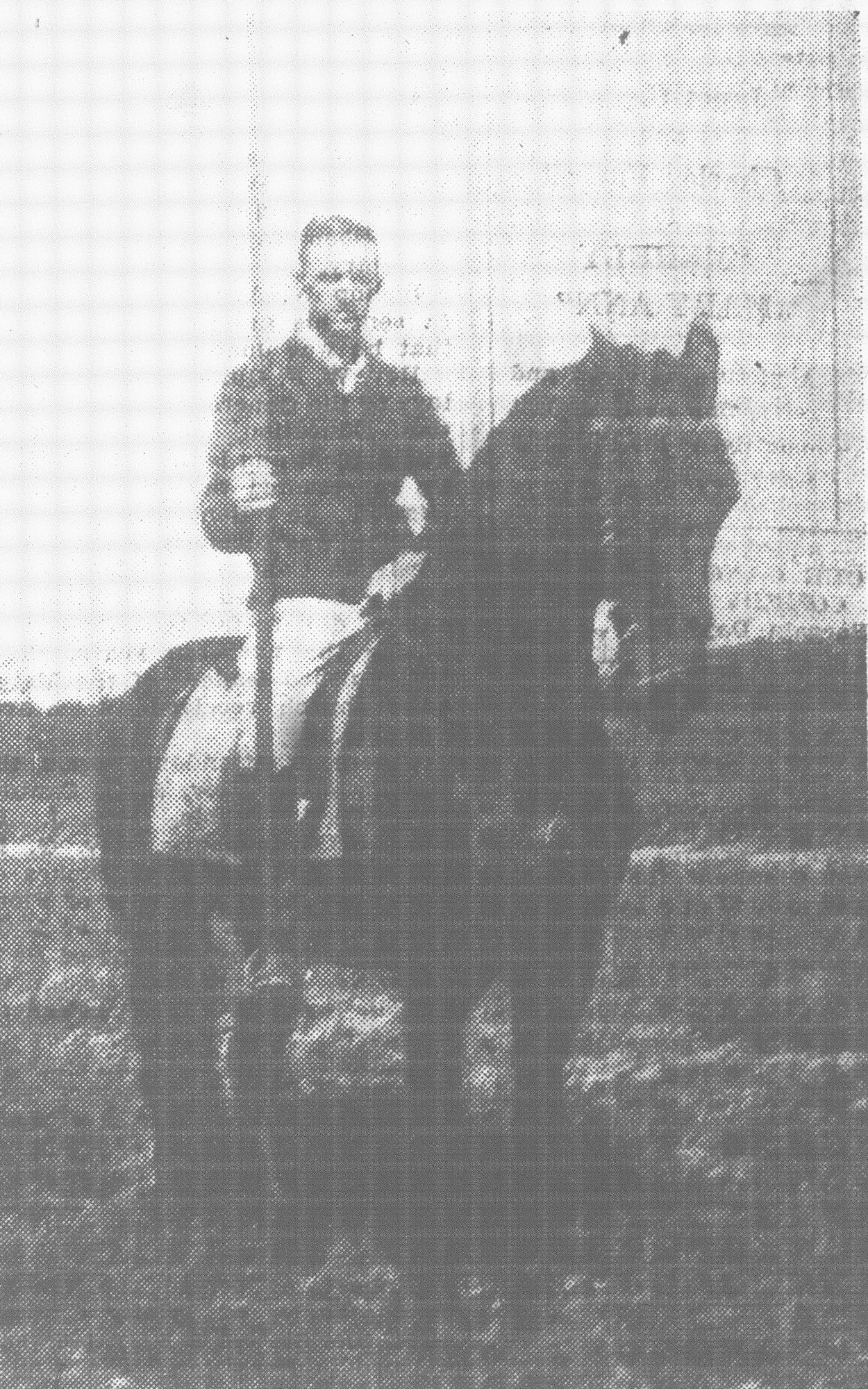 S. A. Harvin planned to ride his horse Ginger in a tilting tournament at Sumter County Fair in 1931.