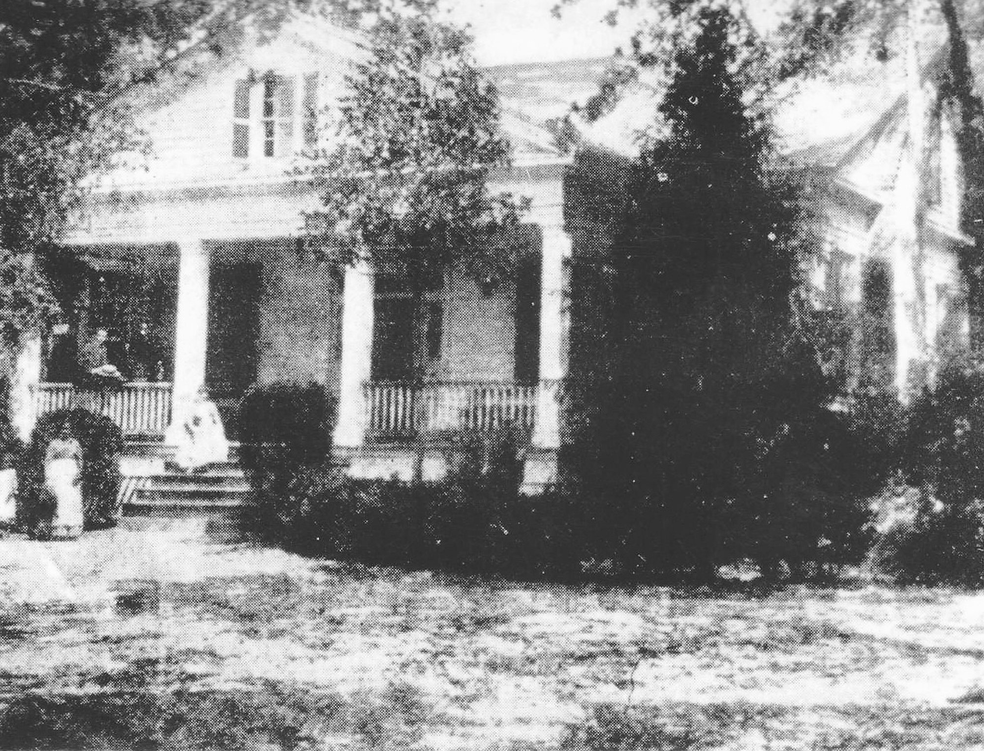The Blanding home on Hampton Avenue was purchased by James D. McFaddin, father-in-law of Col. James D. Blanding, and placed in trust for his daughter Lenora for the couple and their 15 children. Blanding was respected in Sumter in the field of law and was born in 1821 in Columbia.