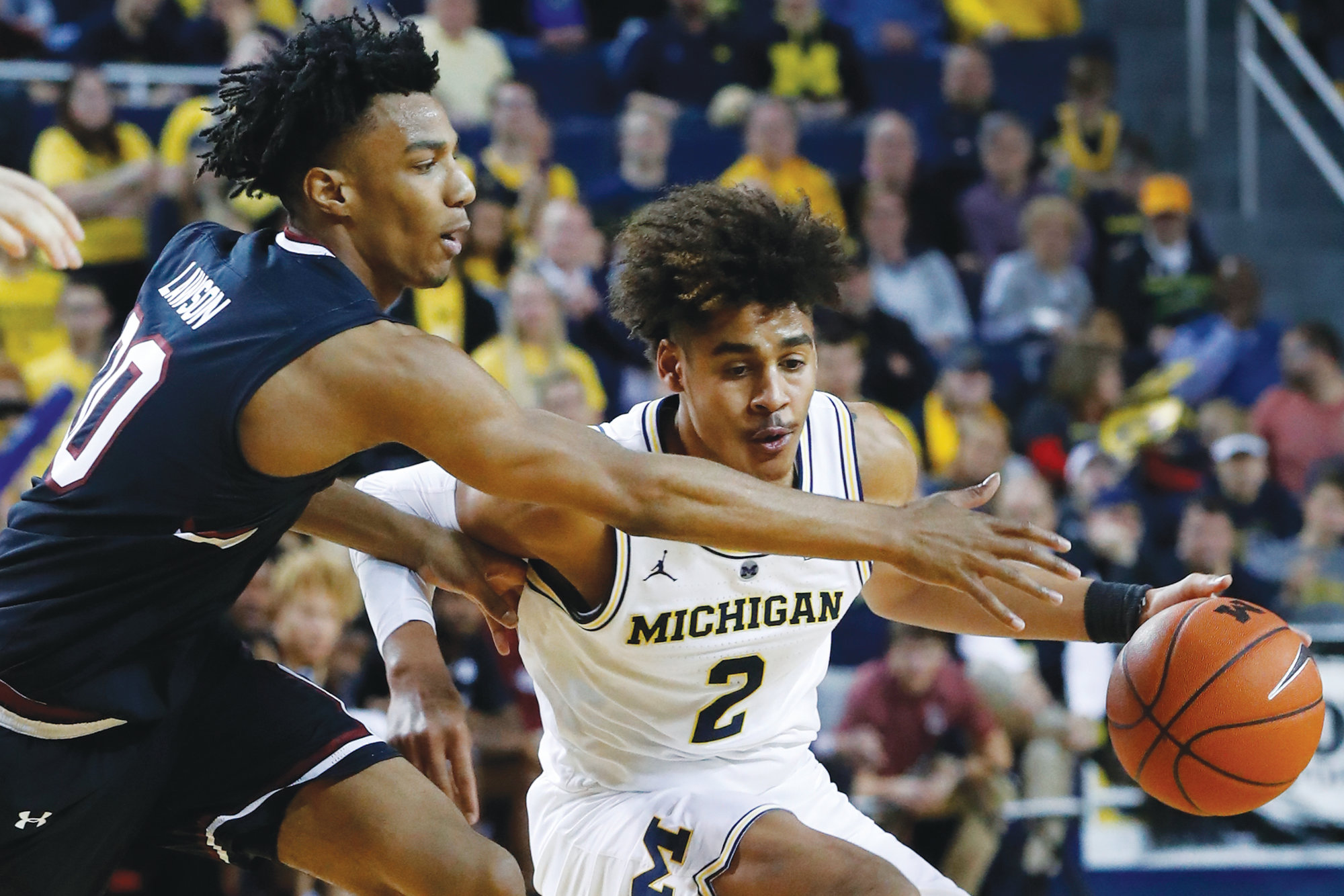 5 Michigan stays unbeaten with 89-78 win over Gamecocks | The Sumter Item