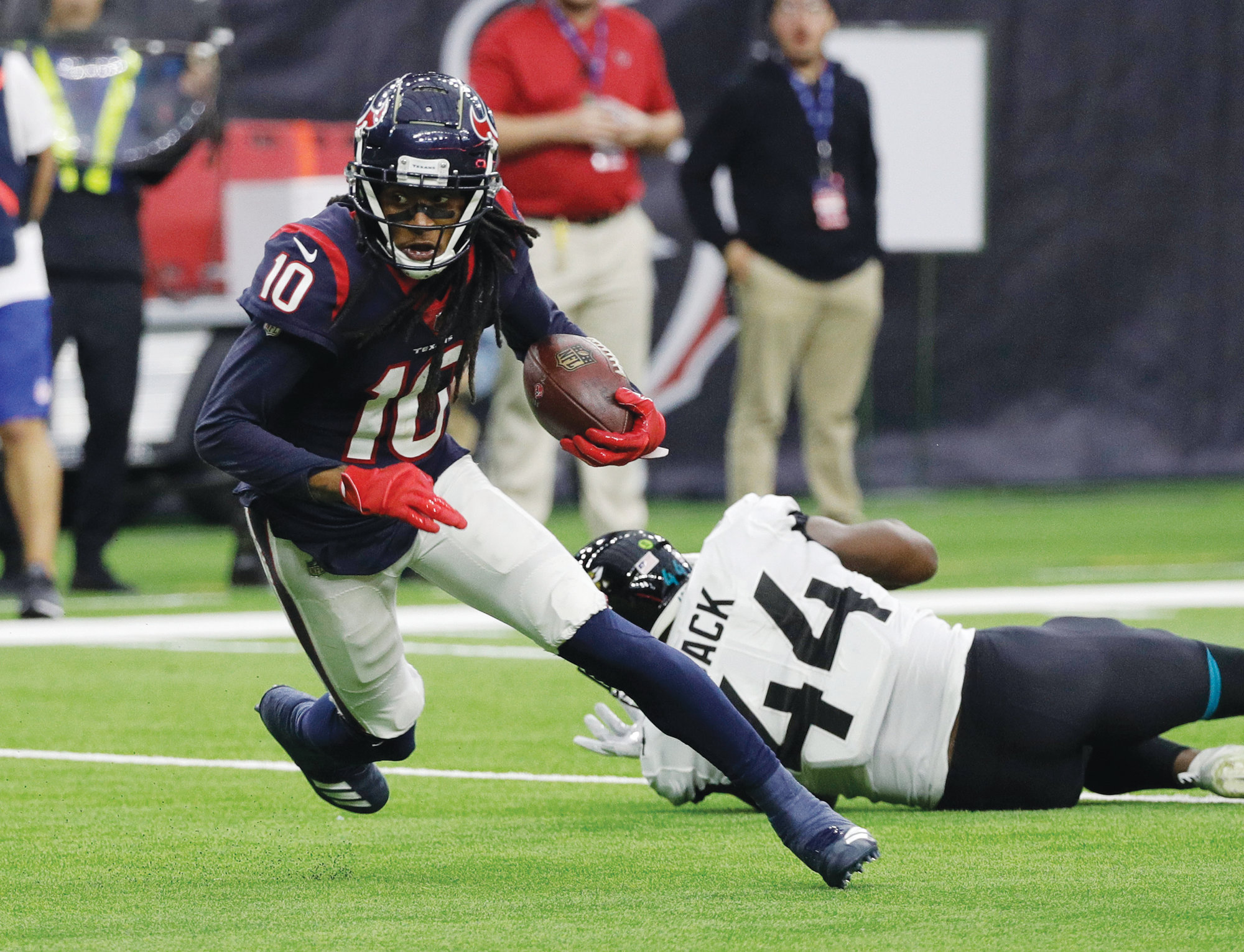Houston wide receiver DeAndre Hopkins (10) has 115 catches for 1 cf203a69f