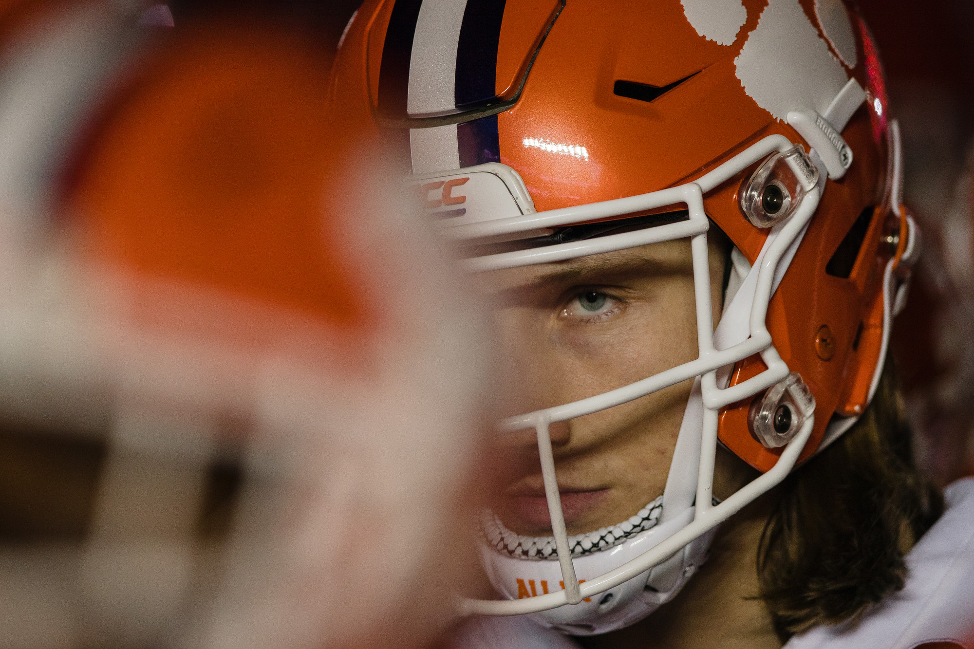 Clemson quarterback Trevor Lawrence, the game's offensive MVP, in the second half of the 2019 CFP National Championship at Levi's Stadium in Santa Clara, California, on Monday, Jan. 7. The Tigers routed Alabama to win 44-16.