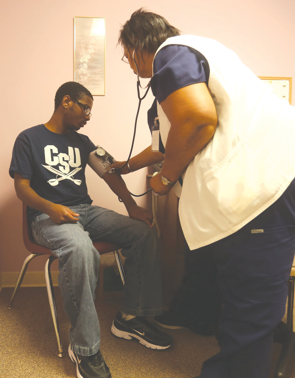 Sumter United Ministries recently opened a free clinic for those who don't have health insurance.