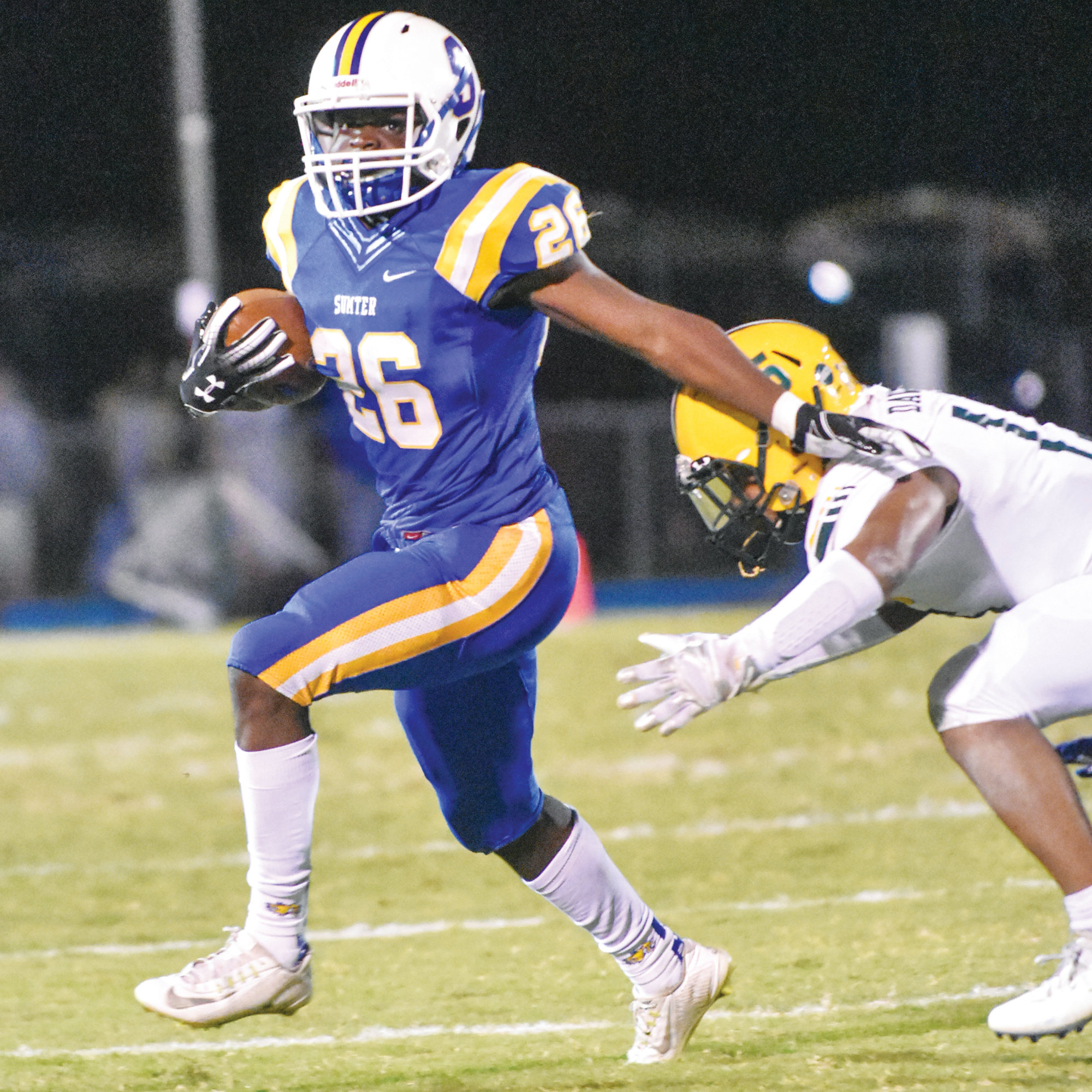 Sumter running back Jonathan Henry (26) has been selected as The Sumter Item Area Player of the Year.