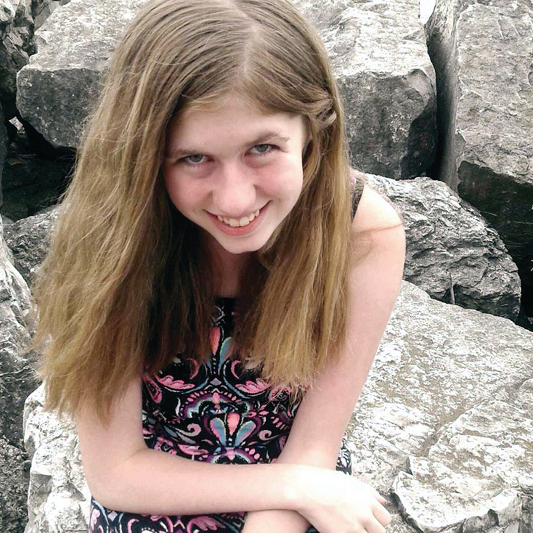 This undated file photo provided by Barron County, Wis., Sheriff's Department, shows Jayme Closs, who was discovered missing Oct. 15, 2018, after her parents were found fatally shot at their home in Barron, Wis. The Barron County Sheriff's Department said on its Facebook page Thursday, Jan. 10, 2019, that Closs who went missing in October after her parents were killed has now been located and that a suspect was taken into custody.