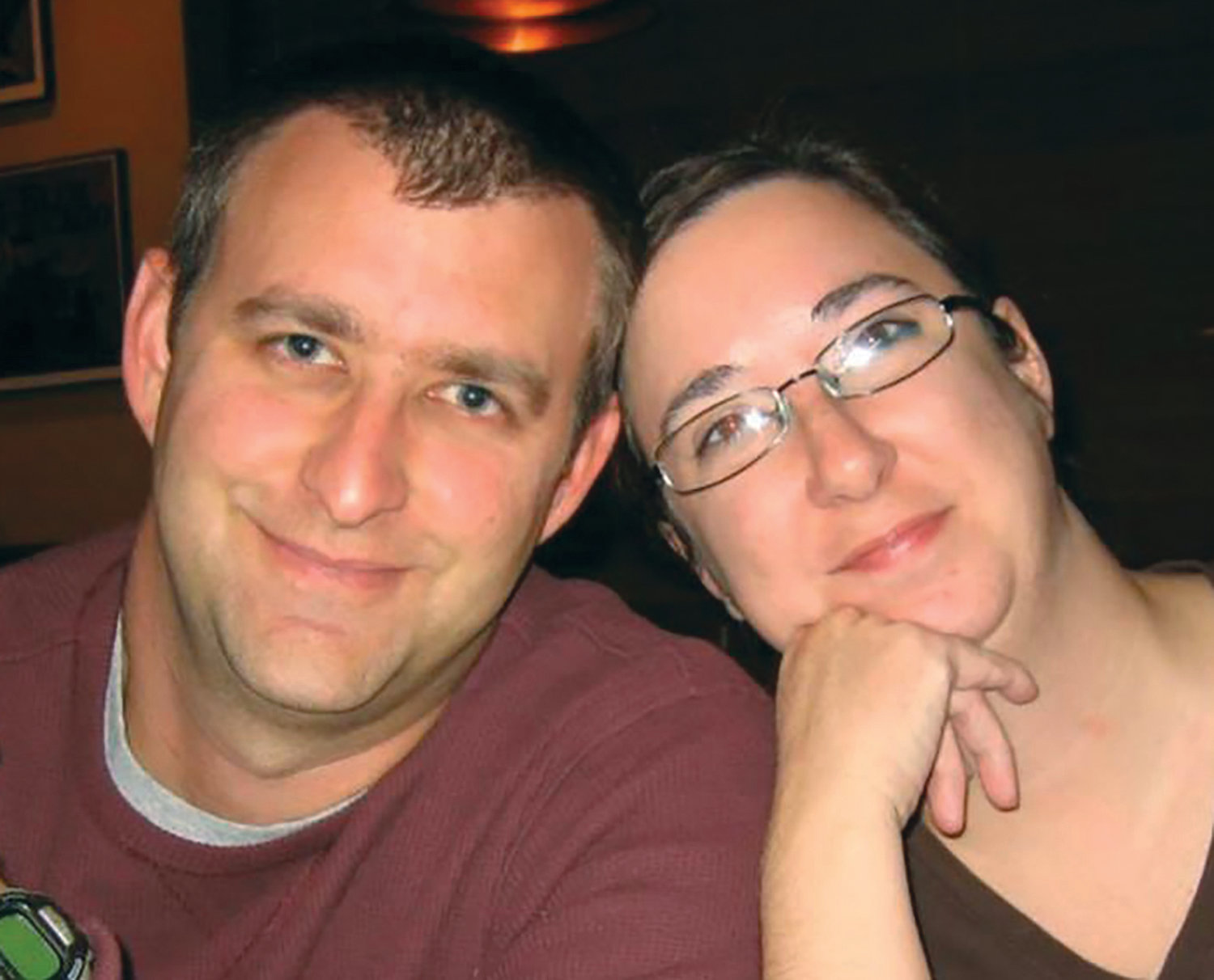 PHOTO PROVIDED  Jodi W. Moore is seen with her late husband, Mason Moore.