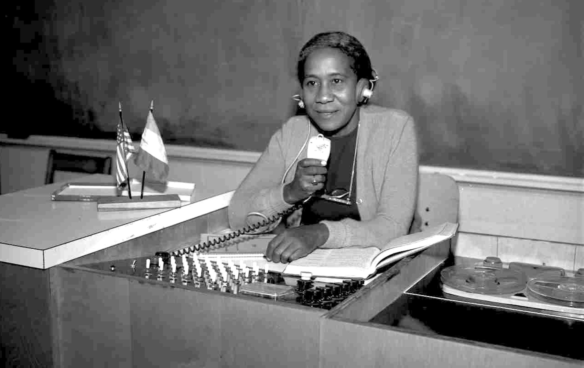 "Wilson, seen at her desk at Lincoln High School, was affectionately called ""madame"" by her students and was the first person of color to be elected president of the South Carolina Education Association."