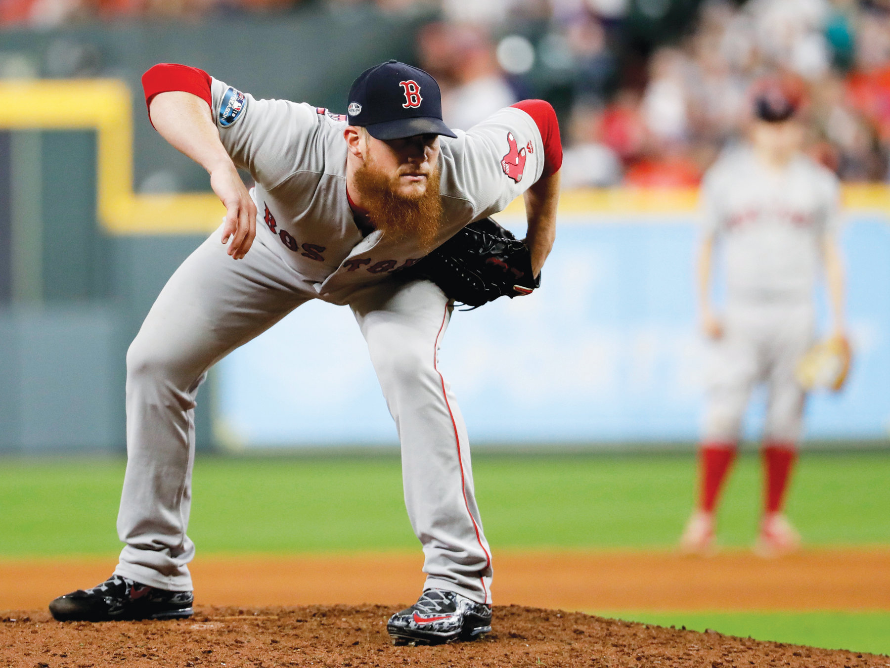 THE ASSOCIATED PRESSFormer Boston Red Sox relief pitcher Craig Kimbrel is one of several premium free agents who are still unsigned as teams begin to report to spring training this week.