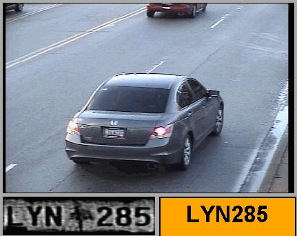 Raphael Bostic's vehicle, a metallic green 2010 Honda Accord with S.C. license tag LYN 285.