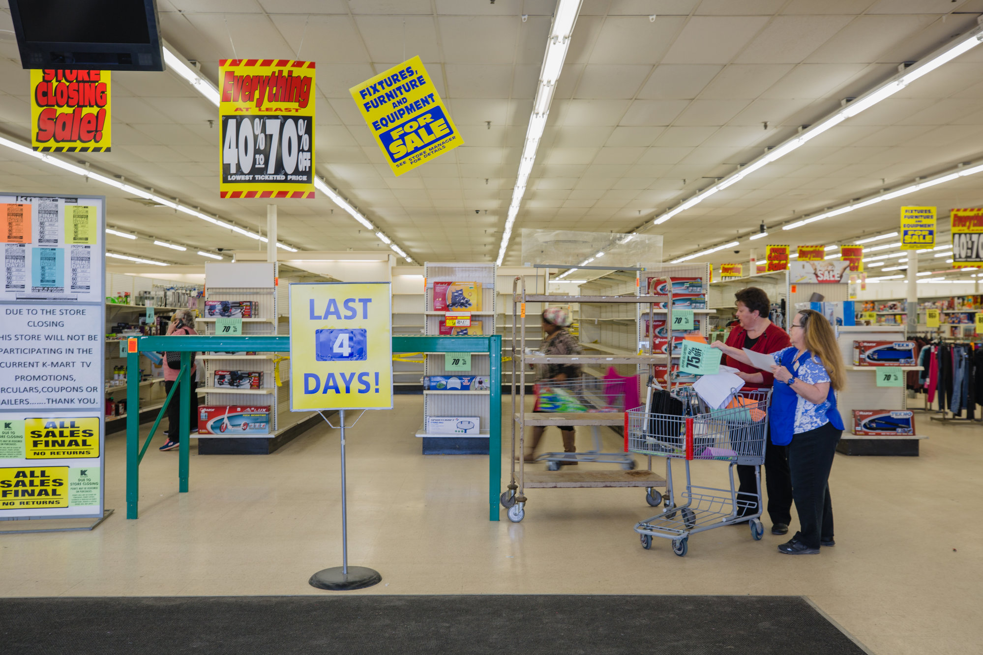 Two Kmart employees reflect on 43 years working at big-box