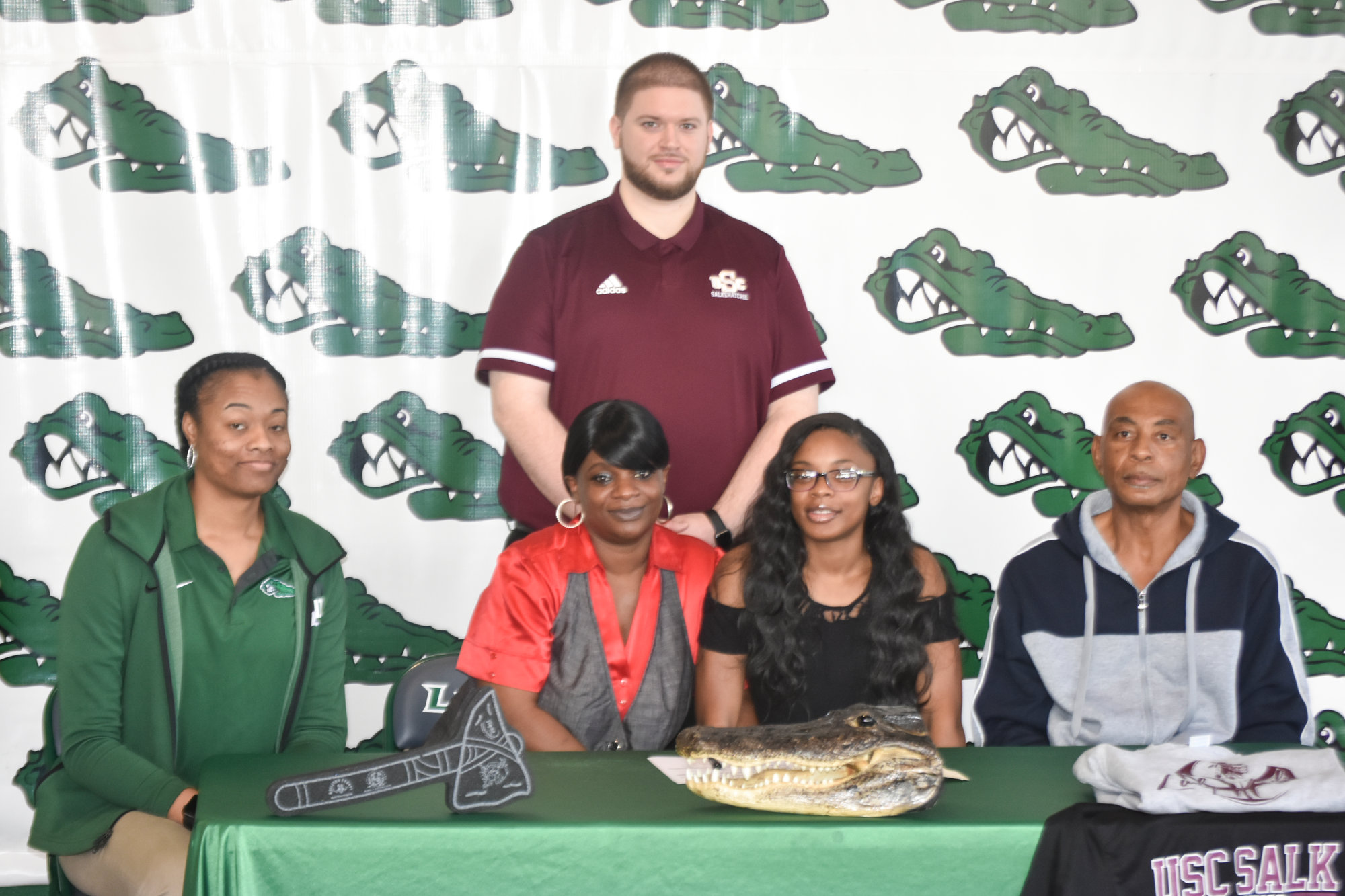 Lakewood's LaShala Harvin signs to play college basketball at USC Salkehatchie in Allendale.