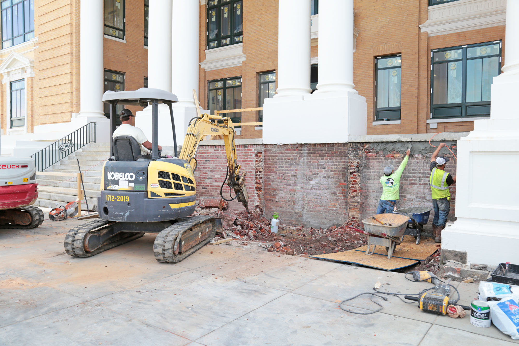 Sumter courthouse renovation project should be finished in