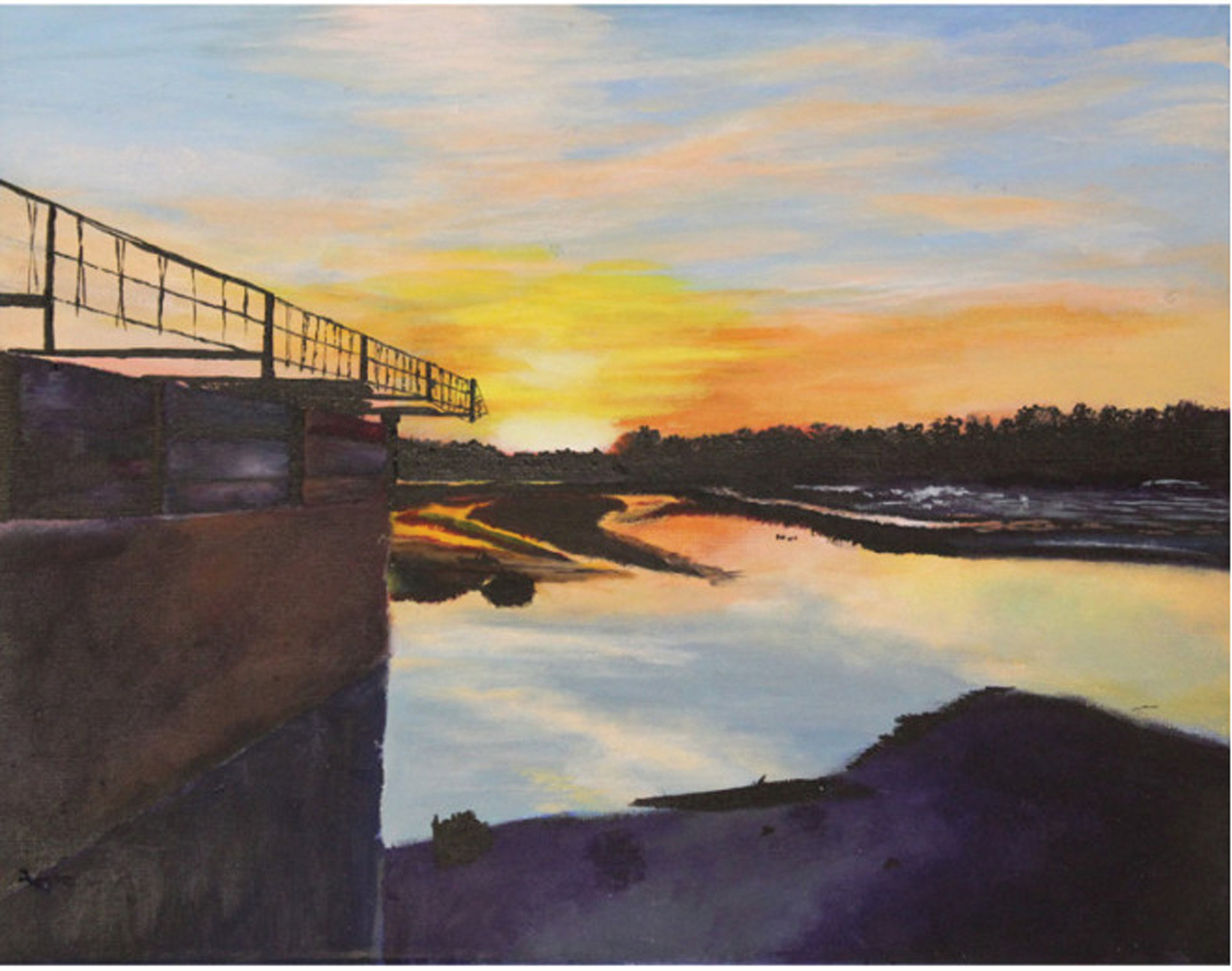 """Broken Spillway"" by Mary Margaret Terry of Sumter."