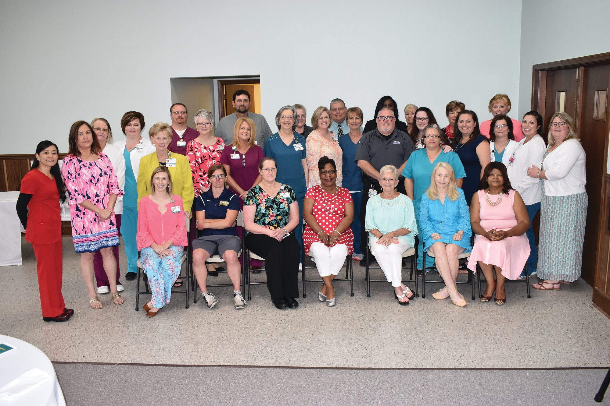 McLeod Health Clarendon employees were recognized at a recent Service Awards Luncheon.