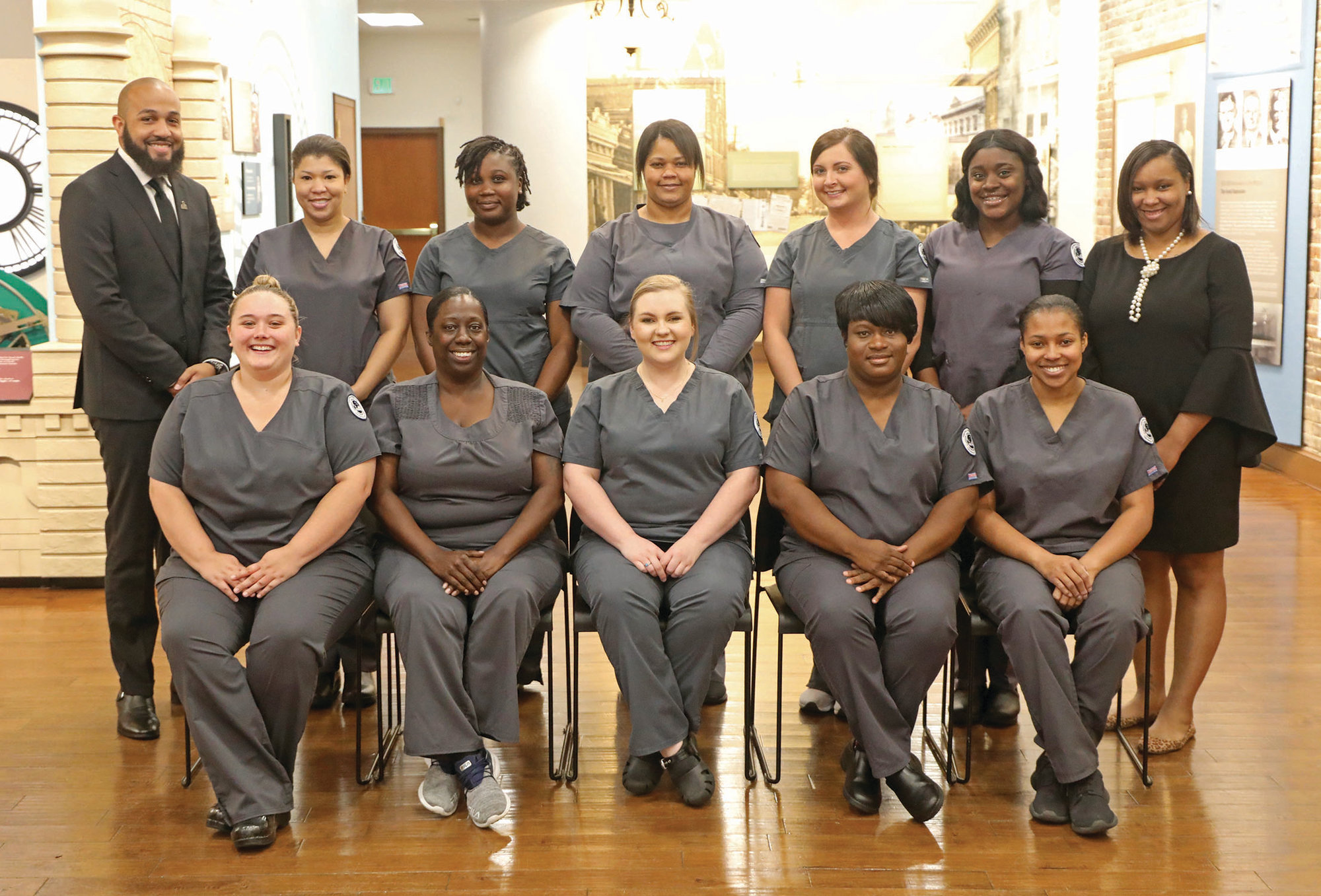 Central Carolina Technical College pins 10 pharmacy technicians at a ceremony held on May 9 at the Sumter Opera House.