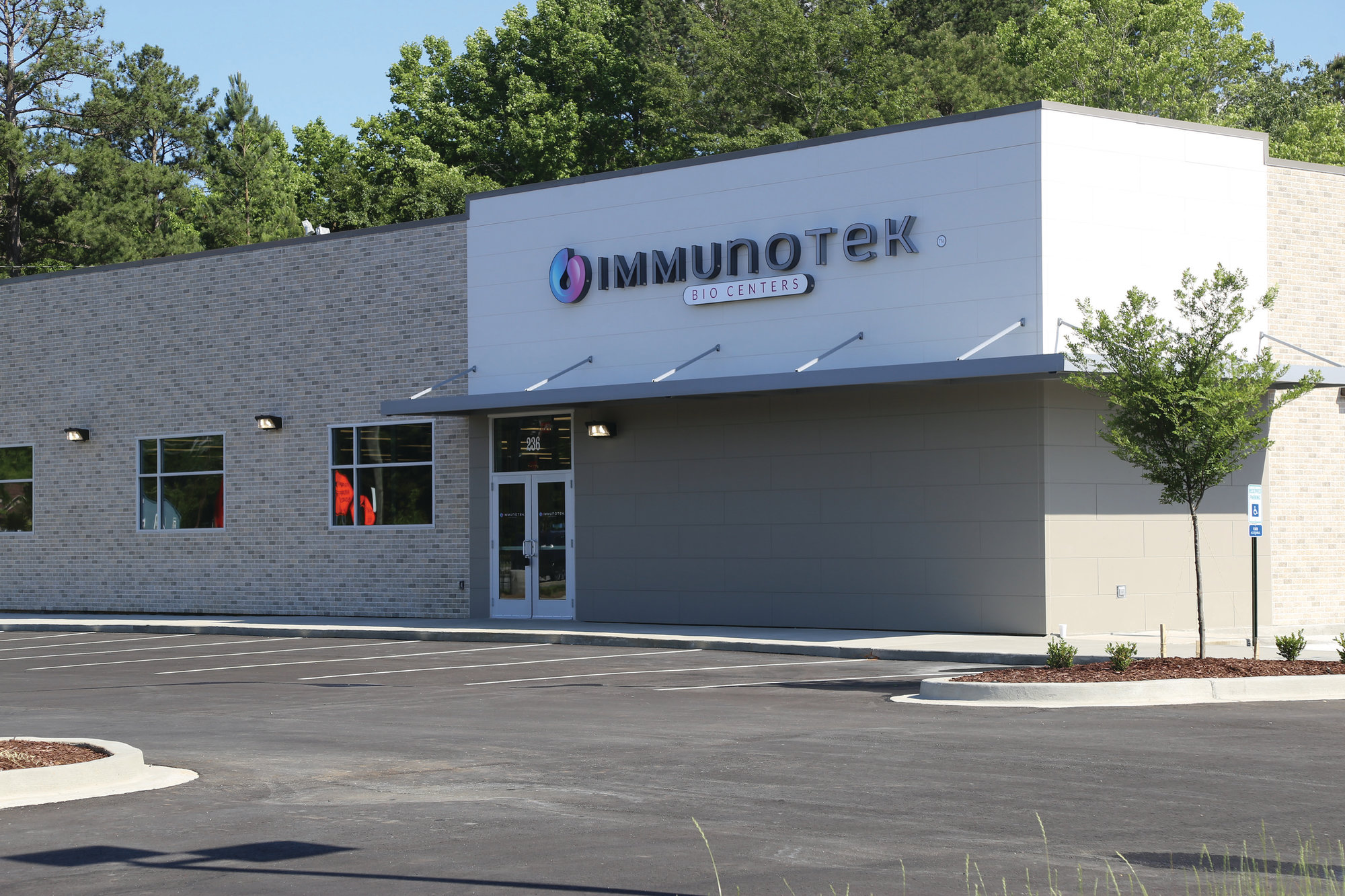 BRUCE MILLS / THE SUMTER ITEM  Immunotek Bio Centers' new facility at 236 S. Pike is about 12,000 square feet and is scheduled to open June 19.