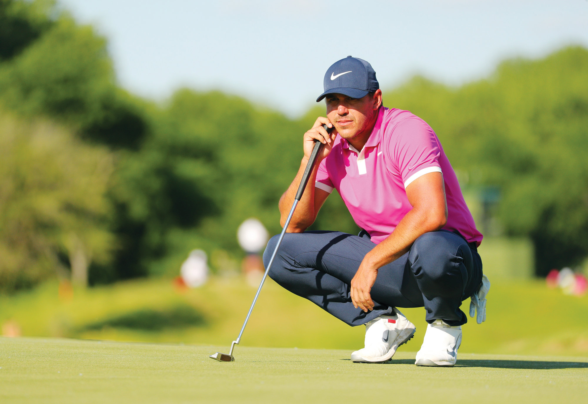 Brooks Koepka is feeling confident as he prepares to defend his title in the PGA Championship, which begins on Thursday in Farmingdale, New York.