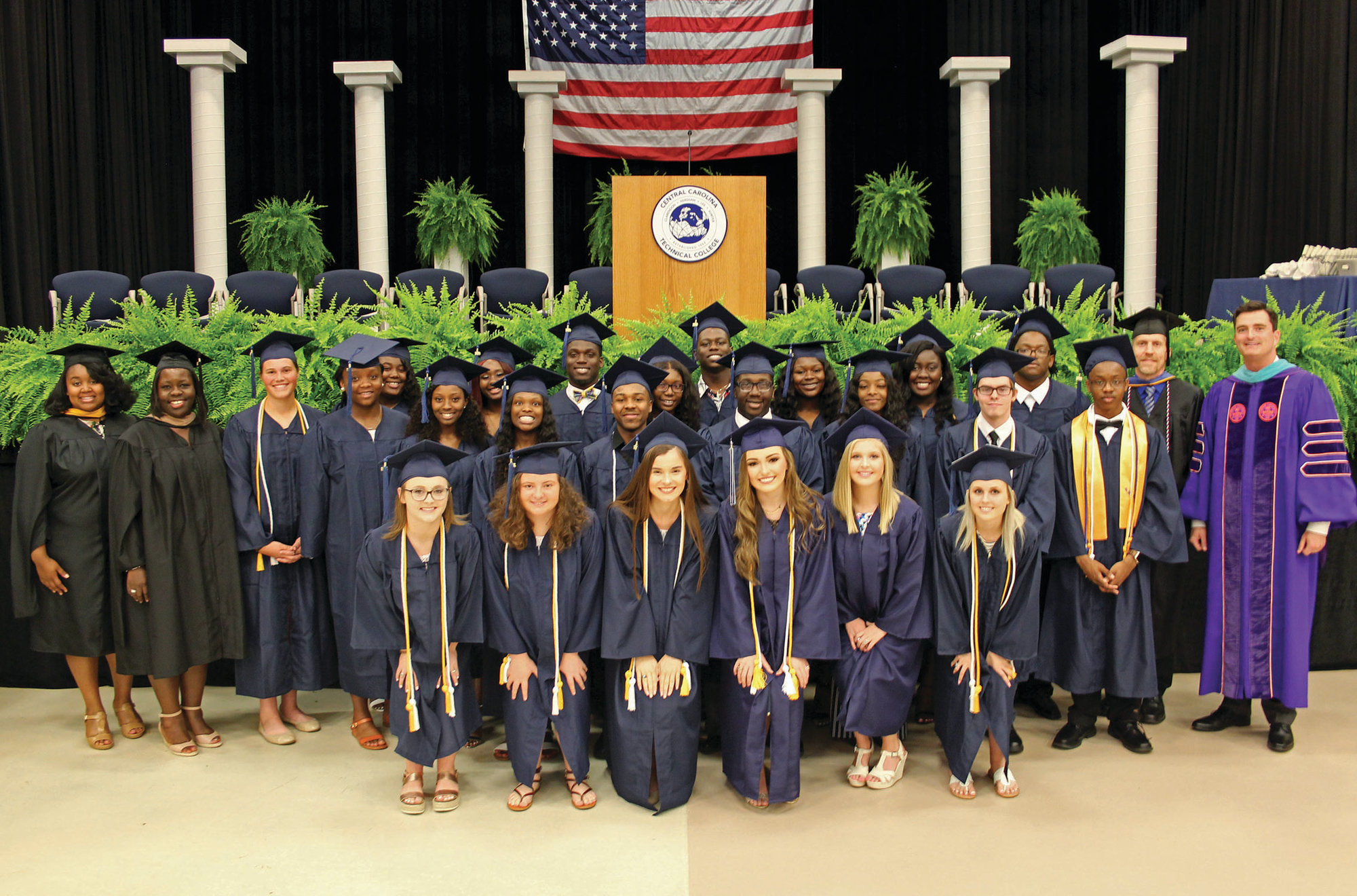 Thirty-two high school students enrolled in the Dual Enrollment or Early College Programs graduated with general education certificates or associate degrees from CCTC before they finished high school.