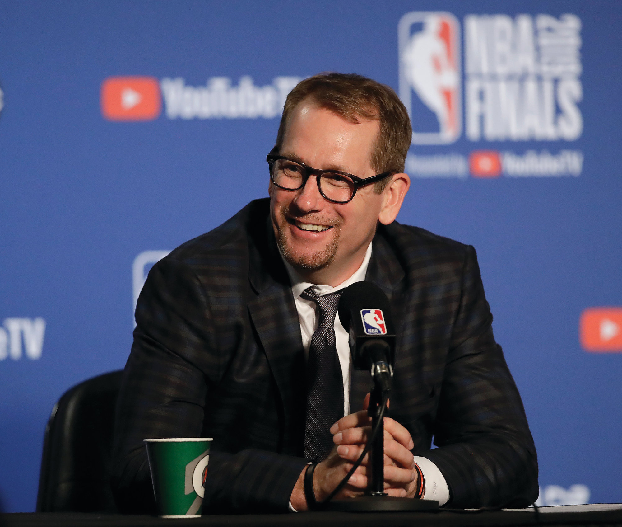 THE ASSOCIATED PRESSFirst-year Toronto head coach Nick Nurse led the Raptors to an NBA title as Toronto beat Golden State 4-2 in the best-of-7 NBA Finals.