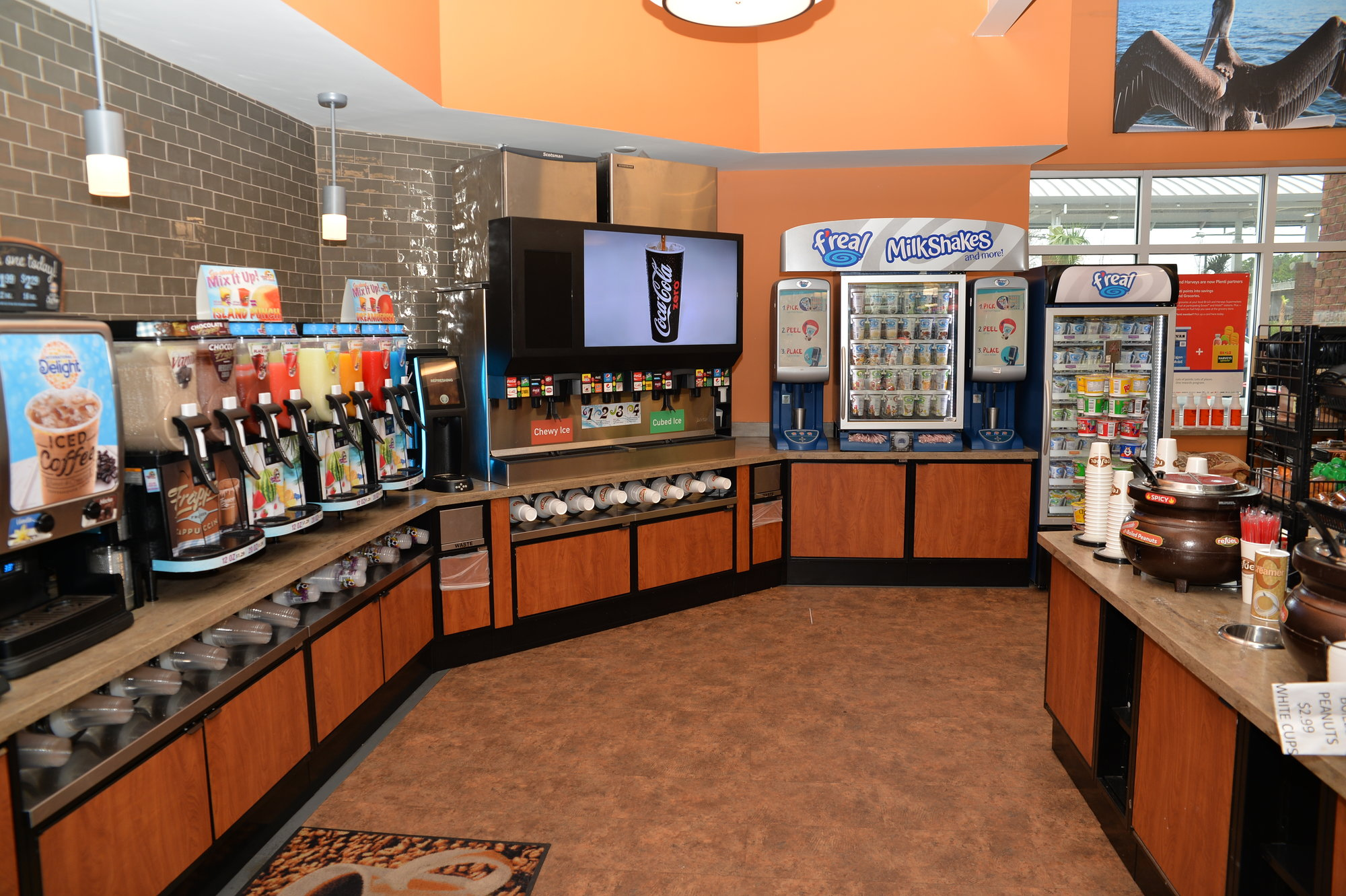 PHOTO PROVIDED  The interior of the soon-to-be constructed Refuel convenience store on Camden Highway will look similar to this Refuel store in the Charleston area.