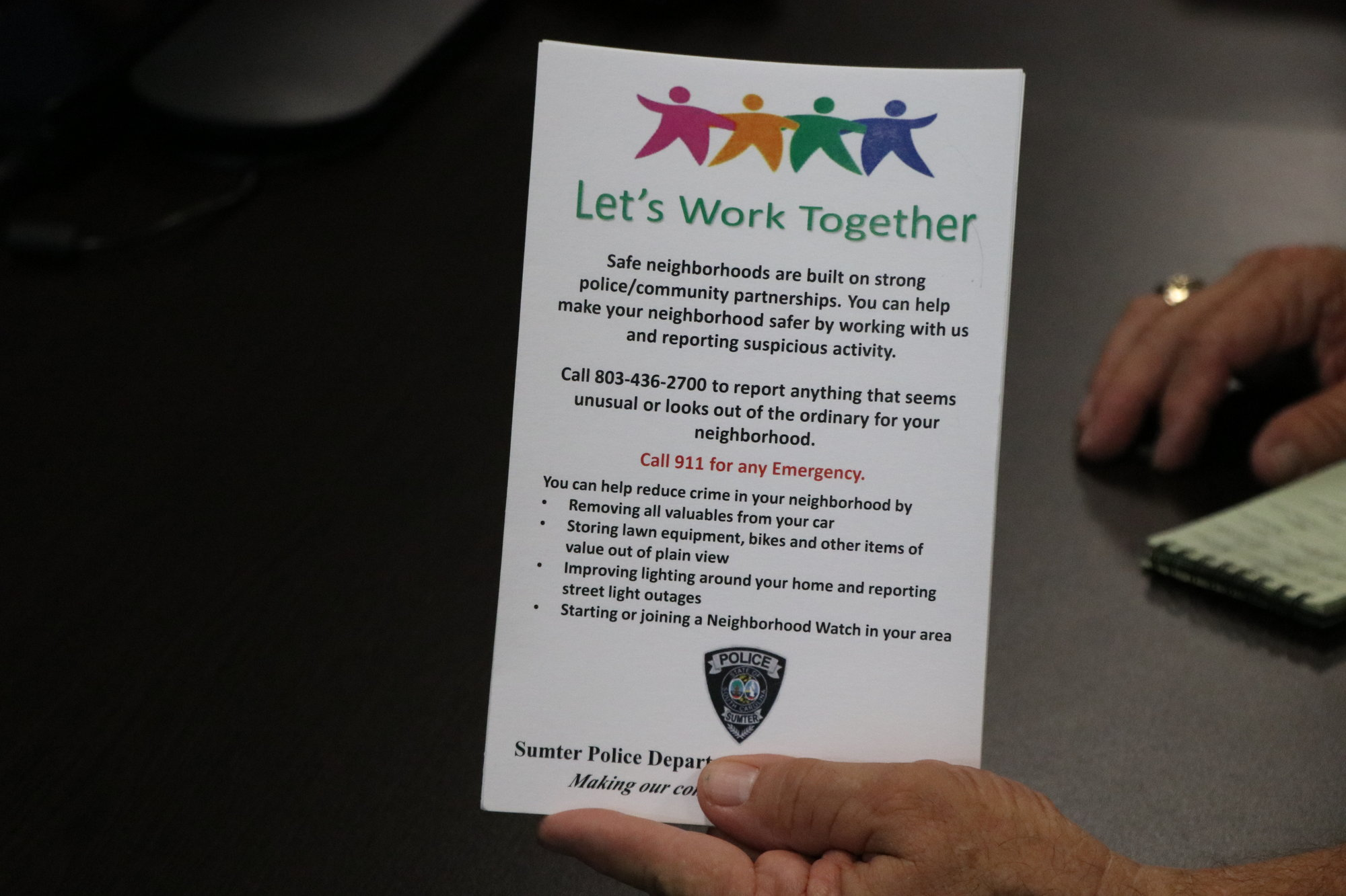 Annual campaign brings police, community together to address