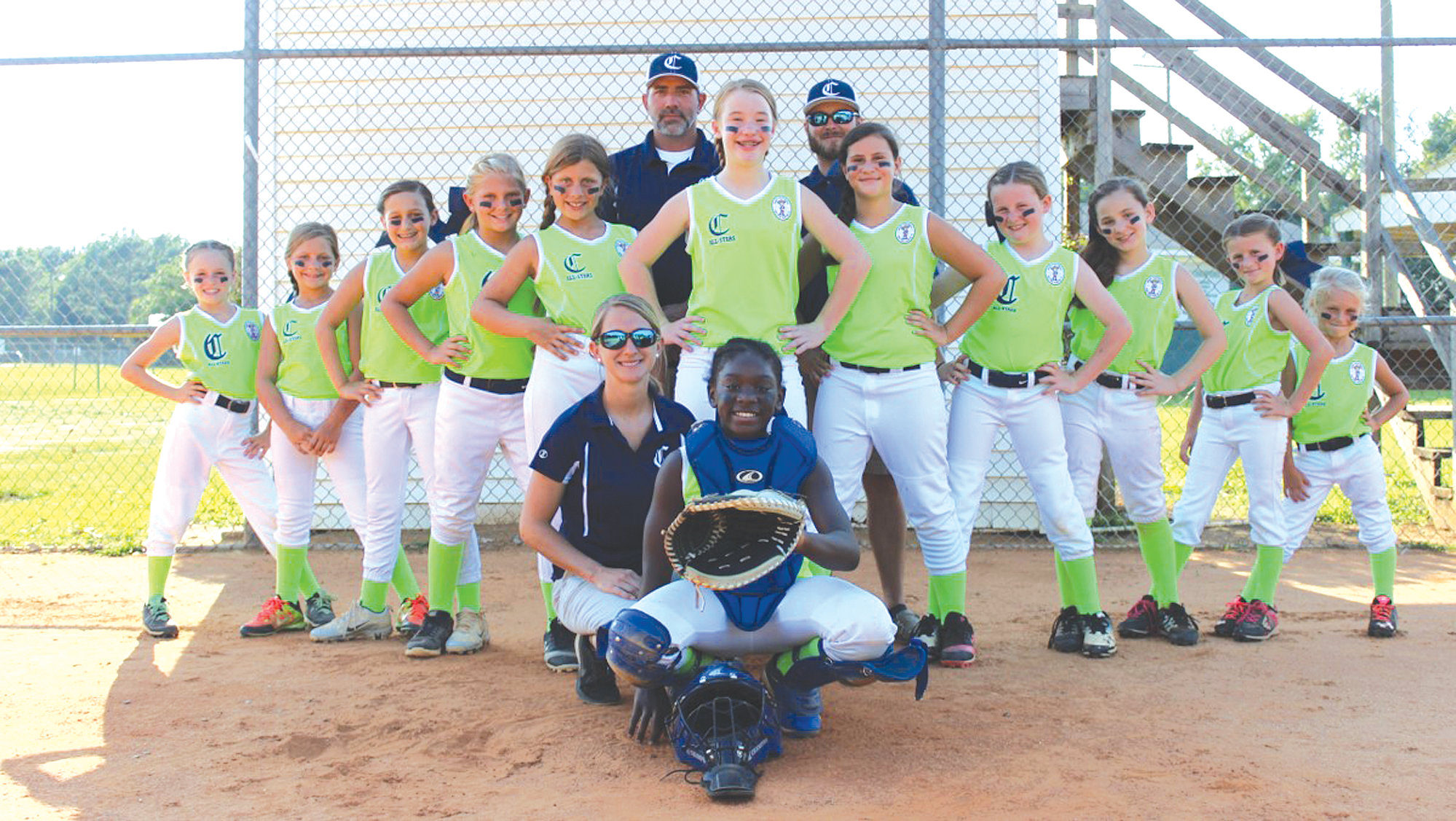 Clarendon County 10u softball team wins first-ever district