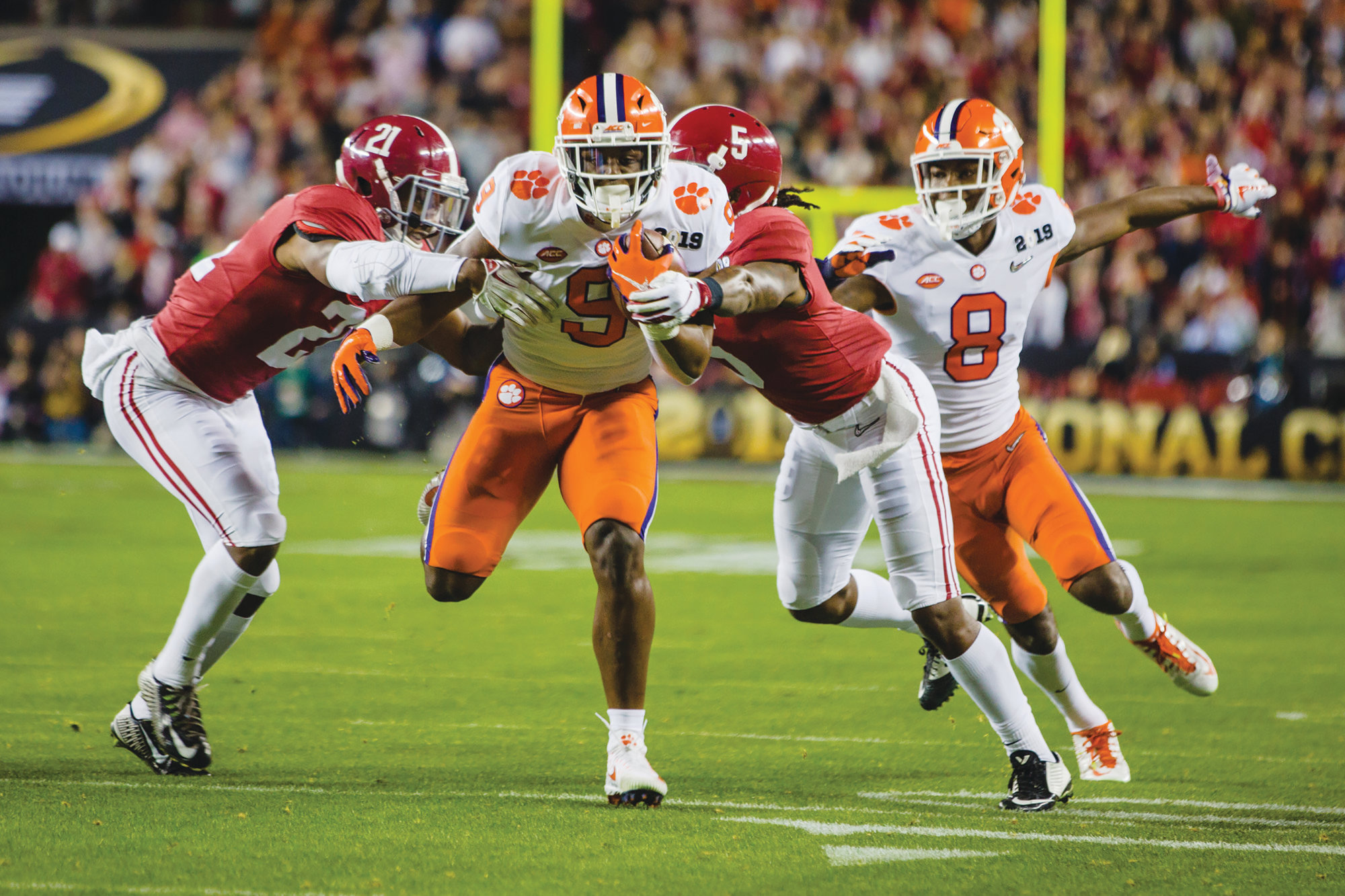 Dominant Clemson, Alabama sit atop college football throne ...