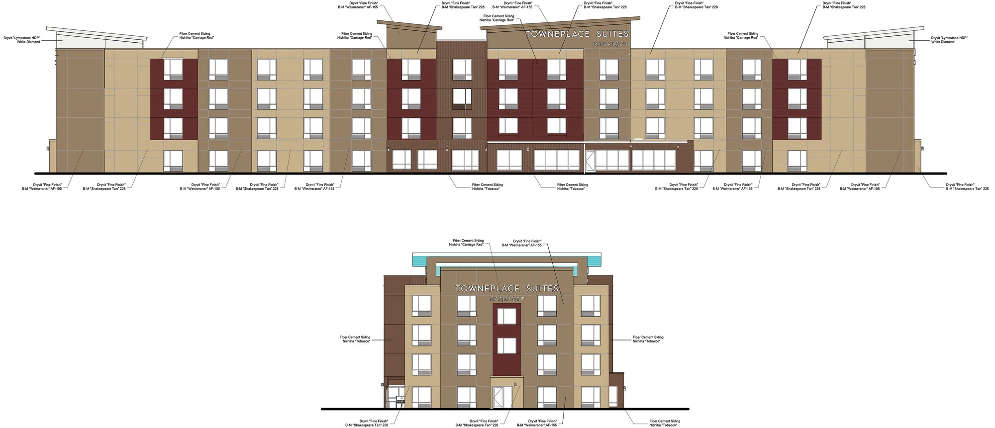 IMAGE PROVIDED  Towneplace Suites by Marriott is now under construction at 2515 Broad St. next to Chili's and Logan's Roadhouse.