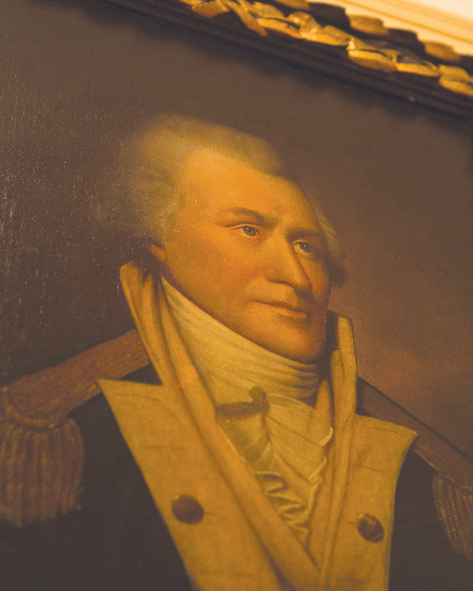 A portrait of Gen. Thomas Sumter hangs in the Sumter County  Museum.