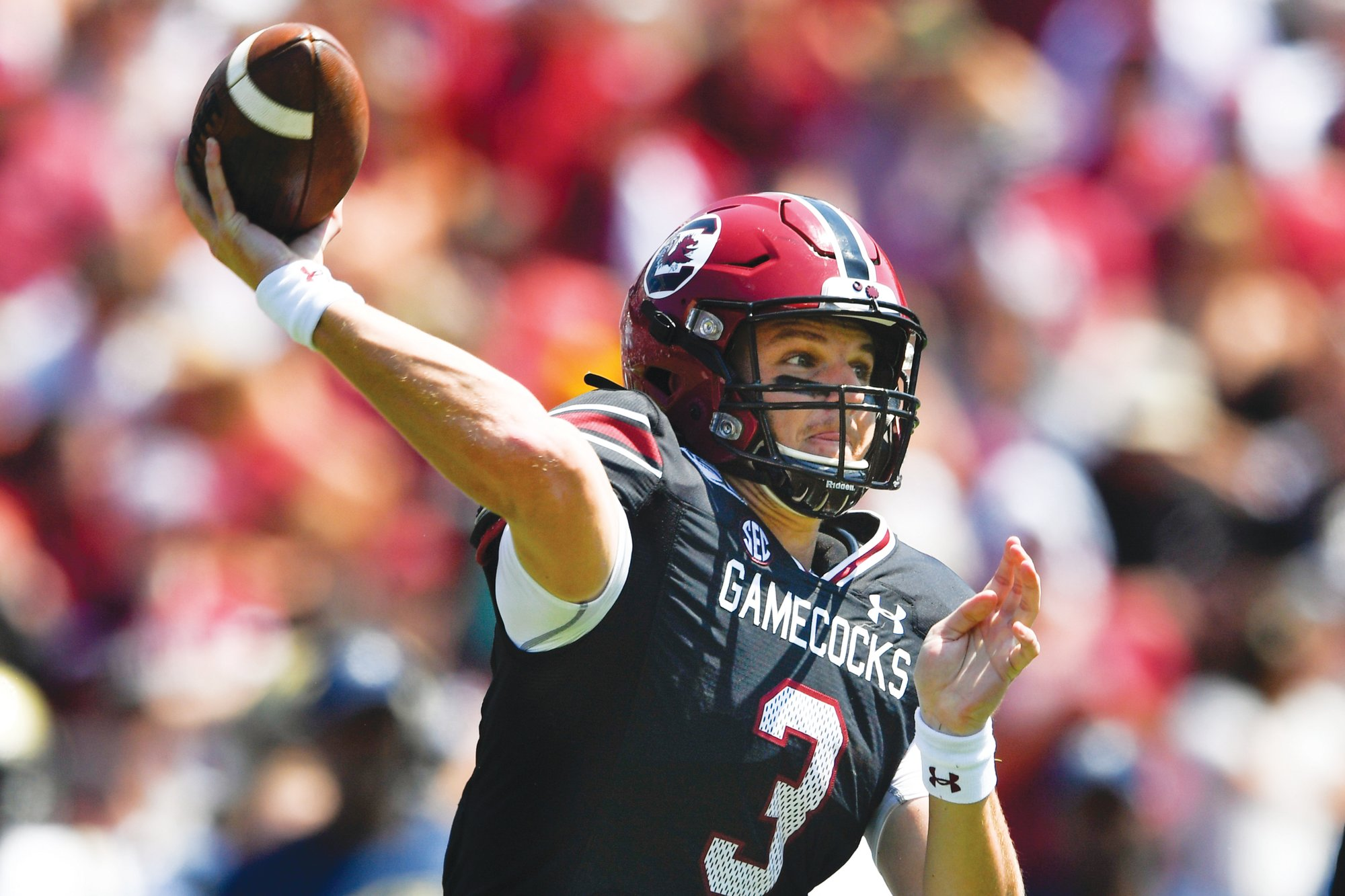 THE ASSOCIATED PRESSSouth Carolina quarterback Ryan Hilinski had a tremendous collegiate debut in the Gamecocks' 72-10 win over Charleston Southern on Saturday. He will face a big test this week as USC plays host to No. 2 Alabama at Williams-Brice Stadium.