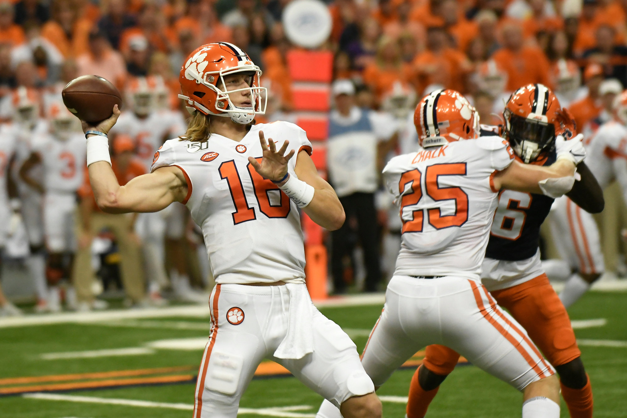 Lawrence leads No. 1 Clemson past Syracuse 41-6 | The ...