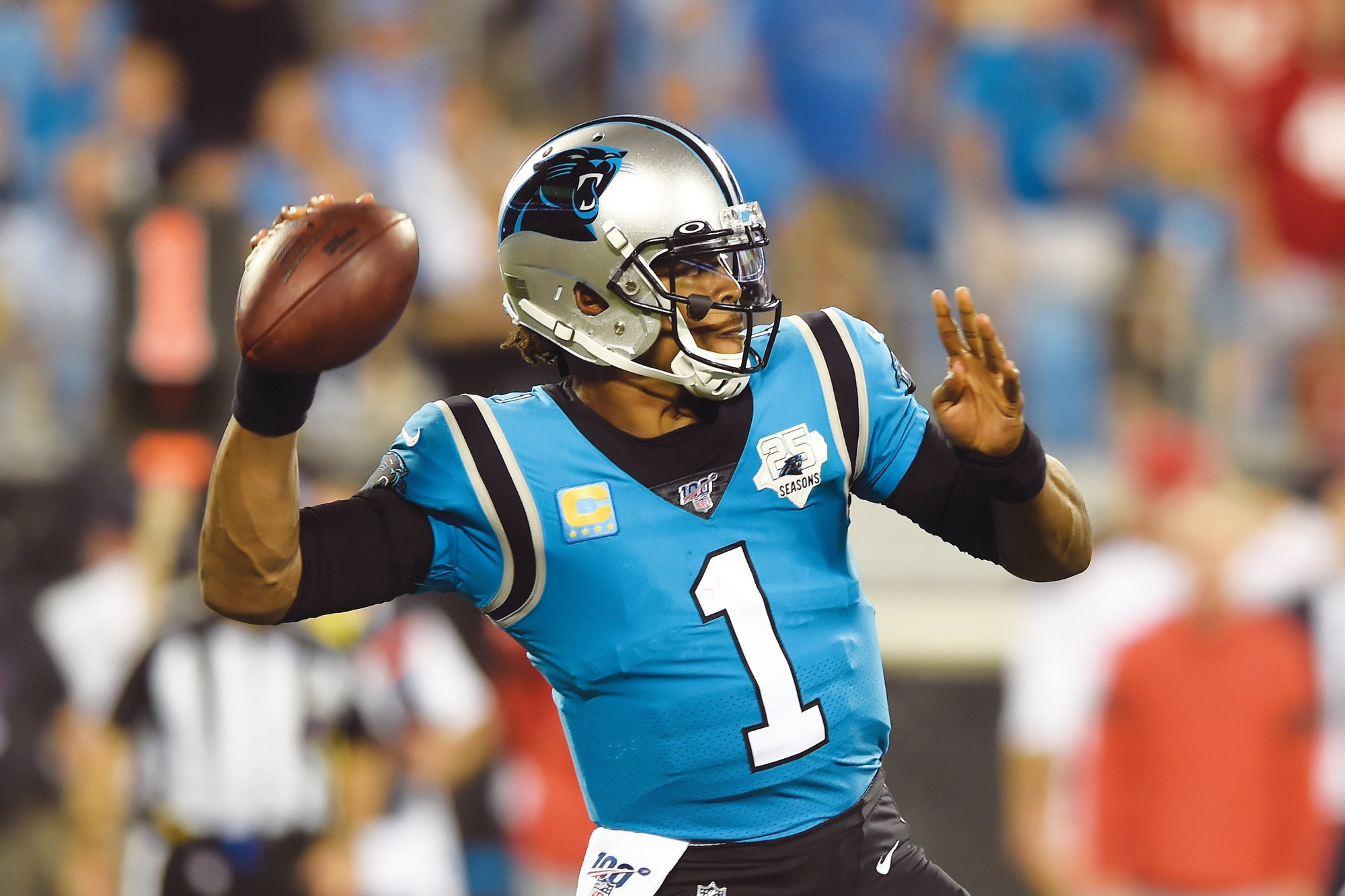 sports shoes 36df6 0dd07 Panthers' Newton out for game against Cardinals | The Sumter ...