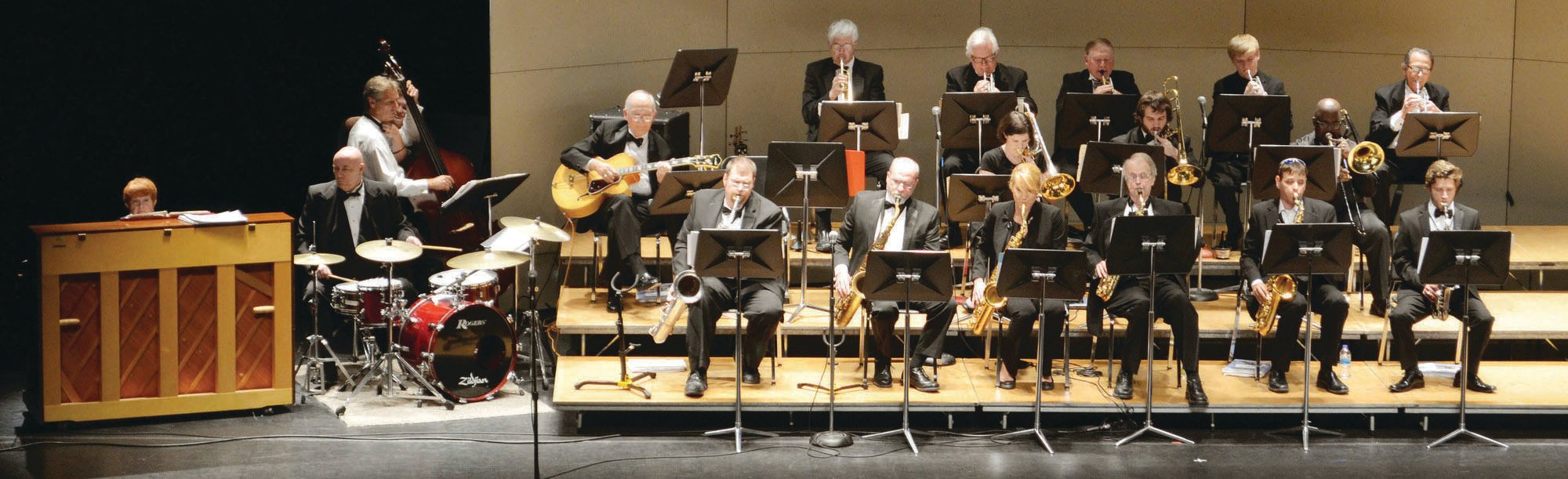 PHOTO PROVIDEDThe SCCB Jazz Ensemble will open Fall for the Arts at 7 p.m. Tuesday in Patriot Hall. Jazz and pop songs will be featured in the concert, which will be preceded by an art show sponsored by the YWCA.