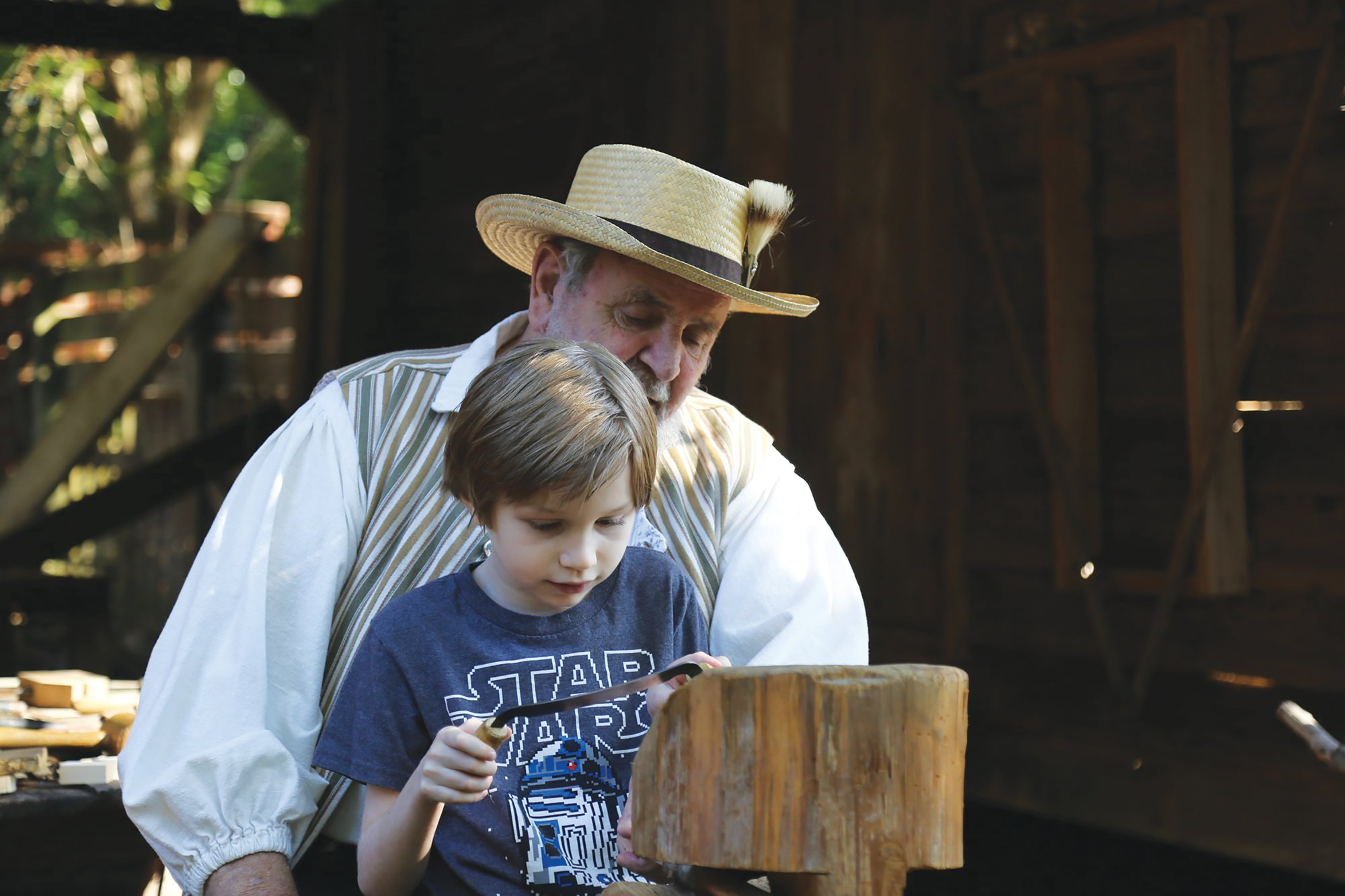SUMTER ITEM FILE PHOTOSAdults and children attending the Sumter County Museum's Carolina Backcountry Harvest event on Saturday will experience what life was like 200 years ago.