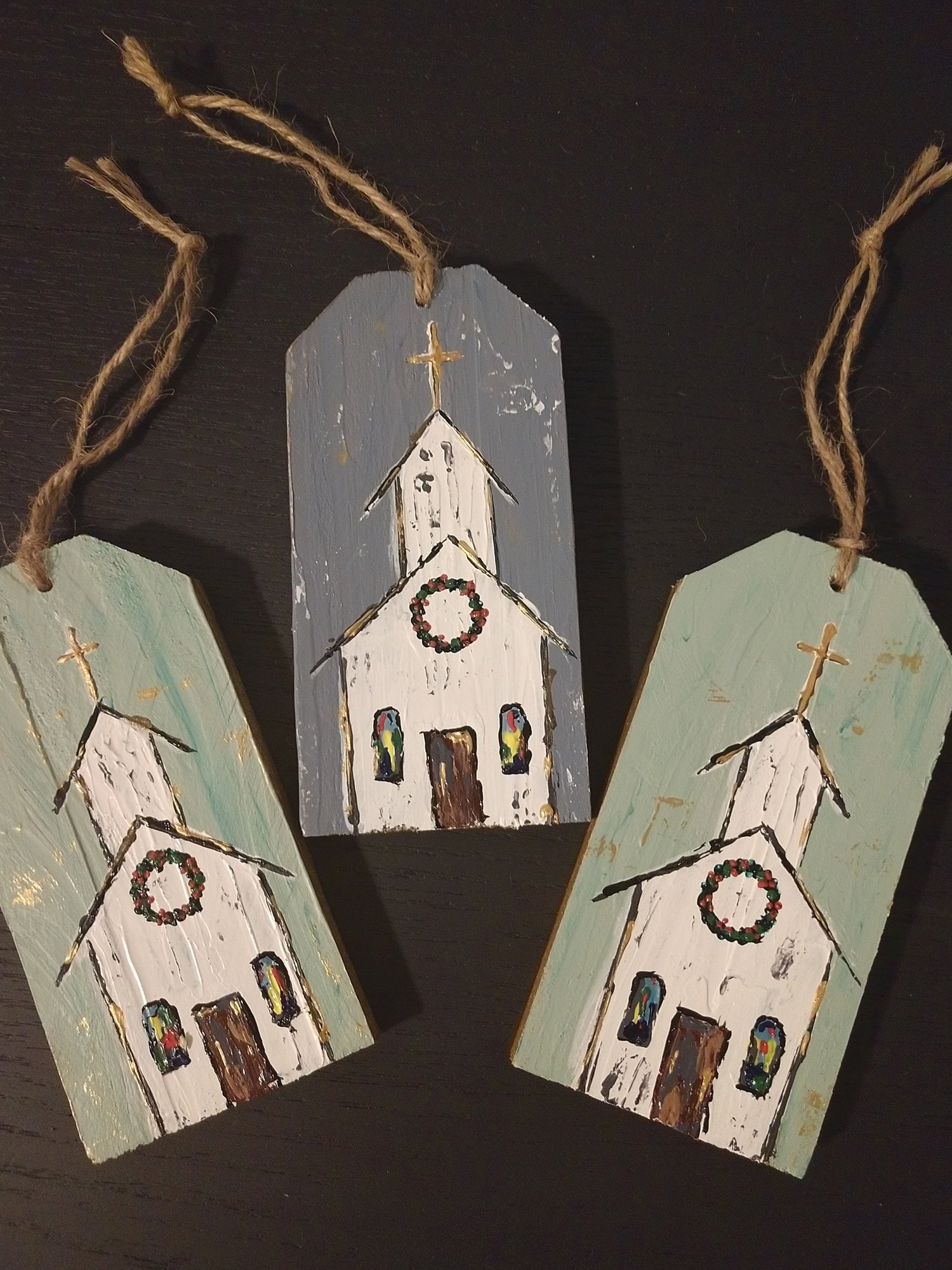 Lynn Sherrill and Samantha Avant, a mother and daughter working together as Southern Somethings, will have their handcrafted wooden items on sale at Art in the House.